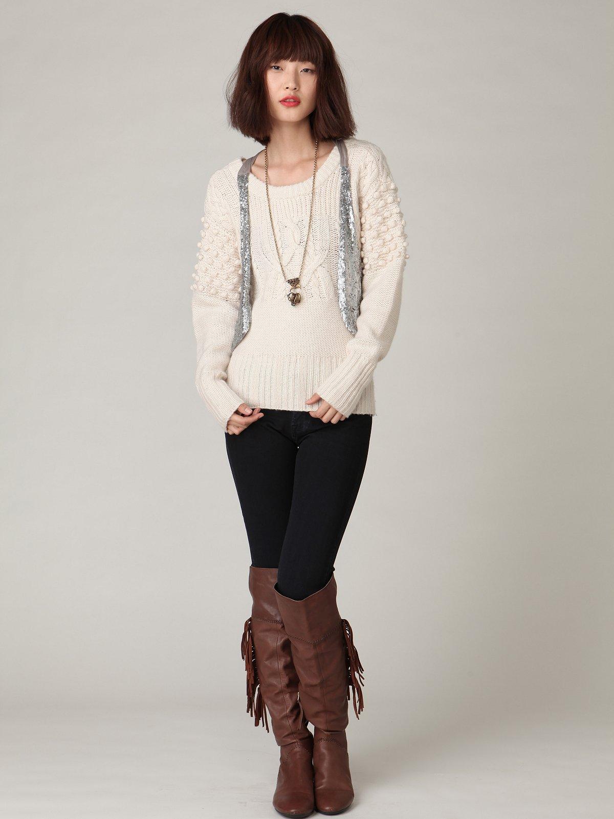 Genetic Twig Cigarette Knit Jean