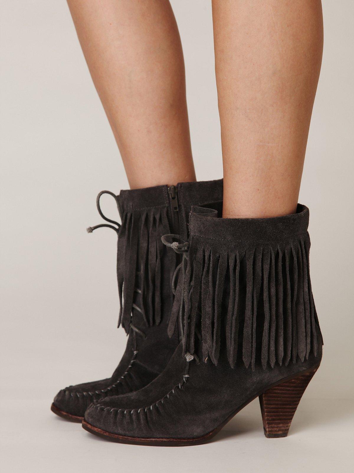 Lea Fringe Boot