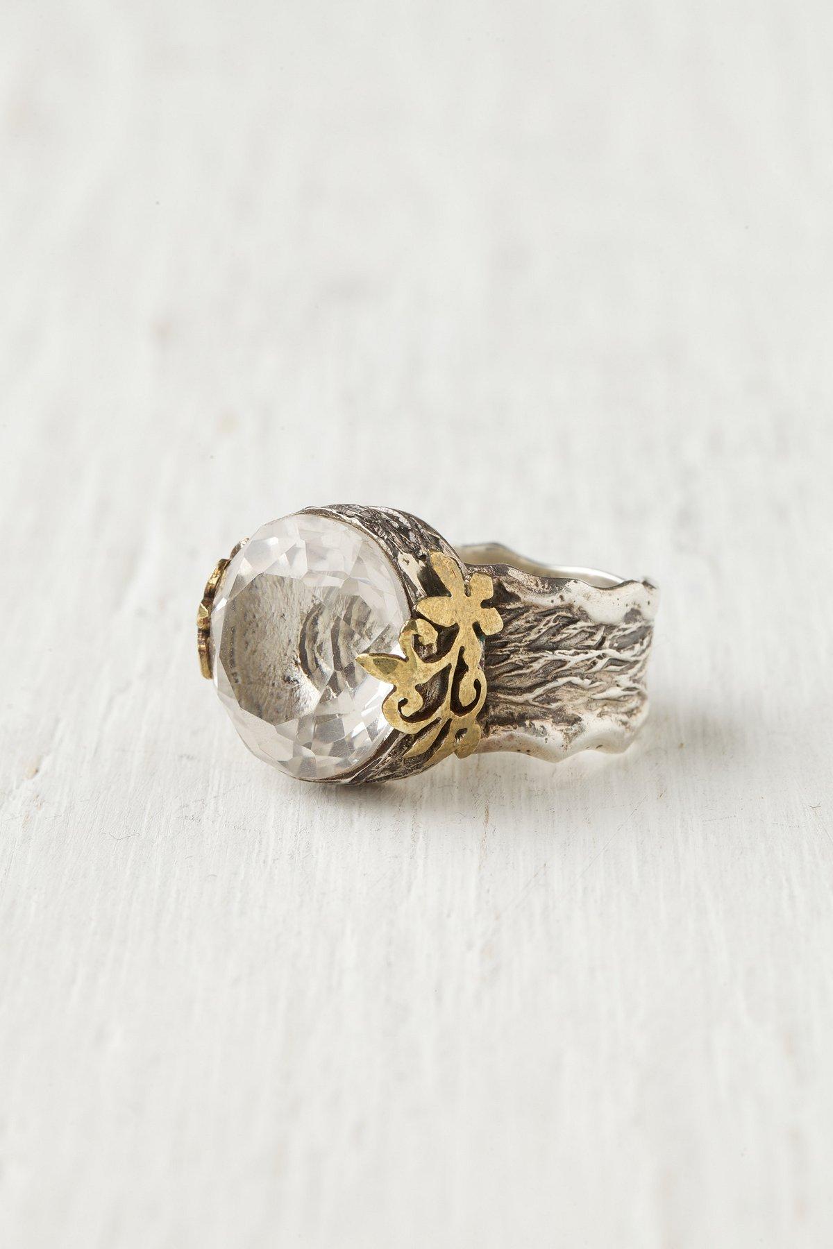 India Crystal Ring