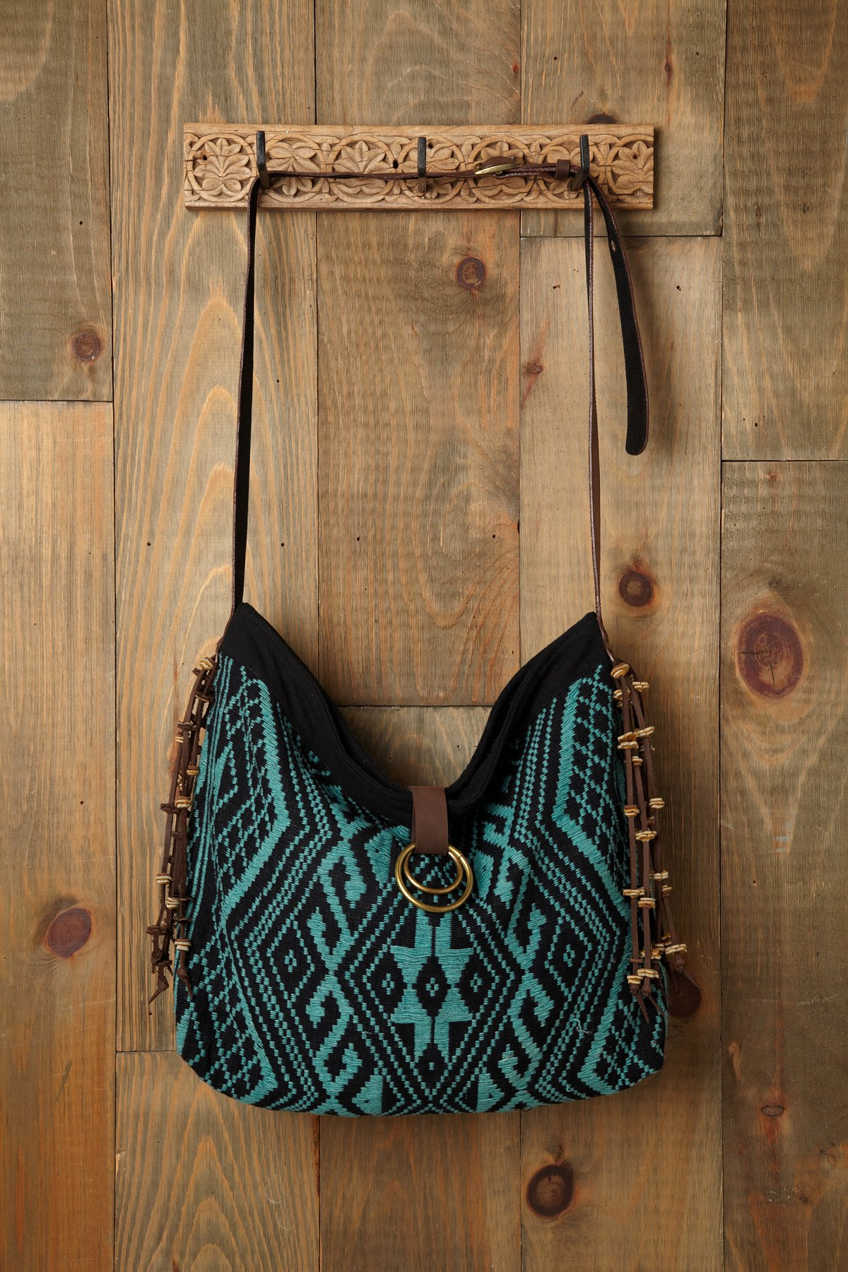 Handwoven Embroidered Crossbody
