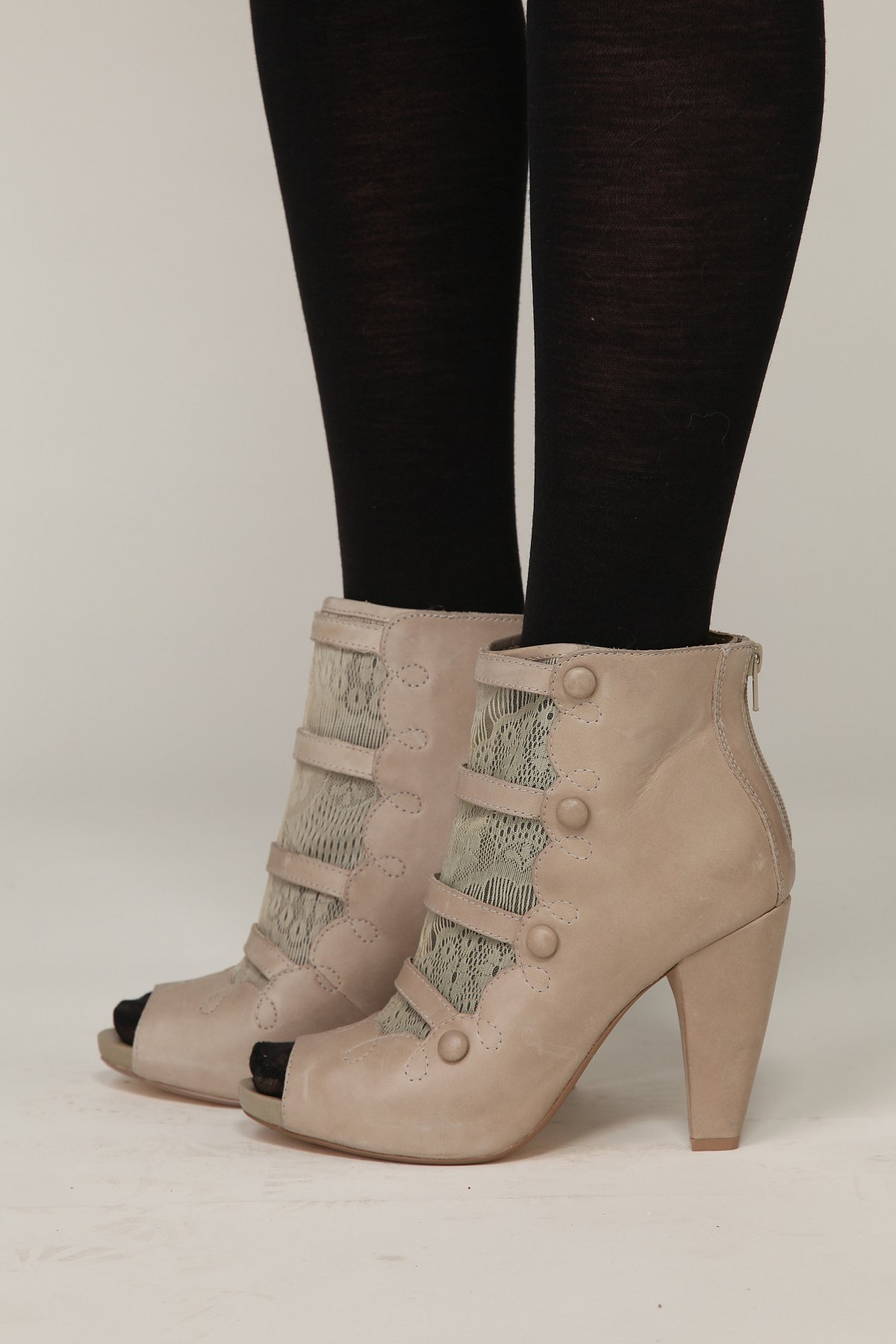 Victorian Lace Ankle Bootie