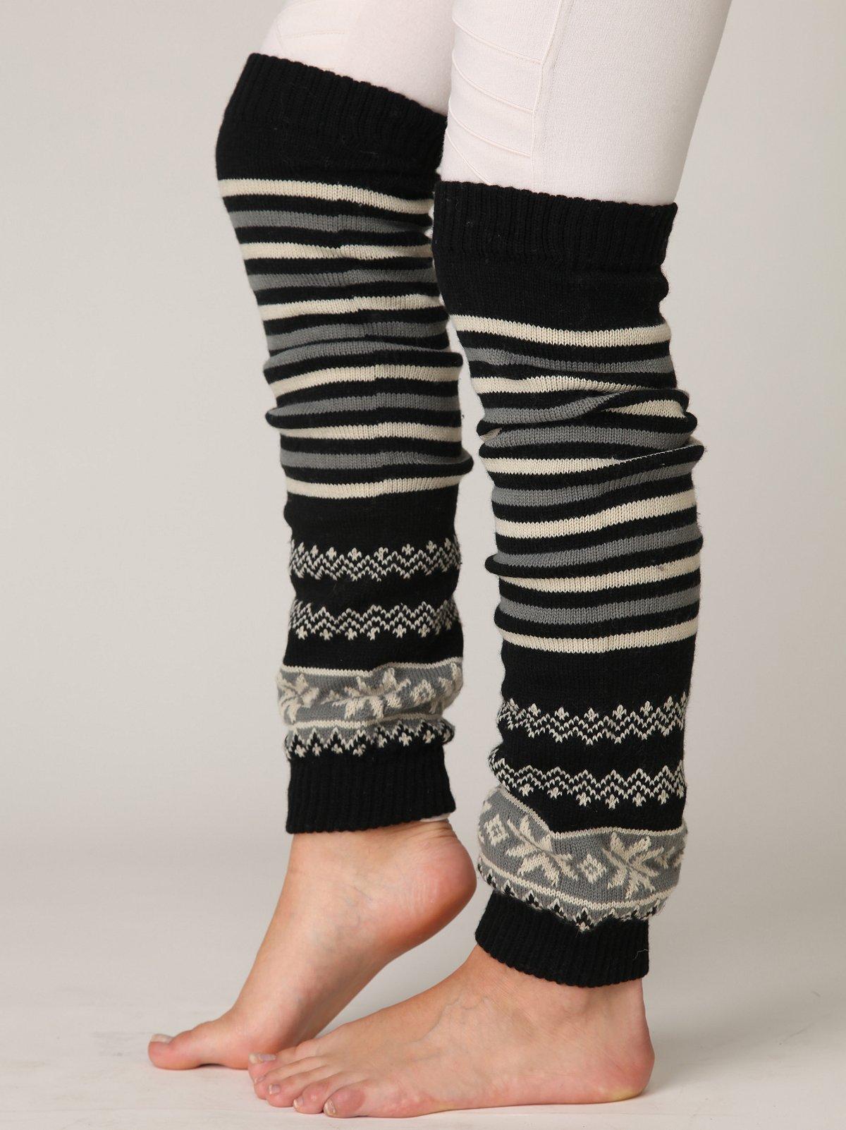 Striped Legwarmers