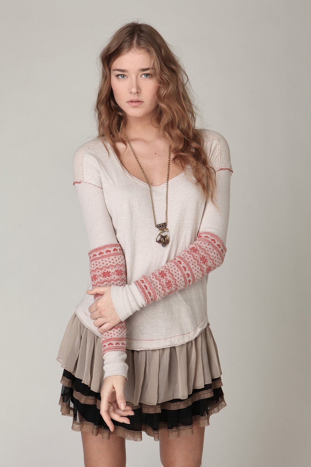 Love and Snowflakes Tunic
