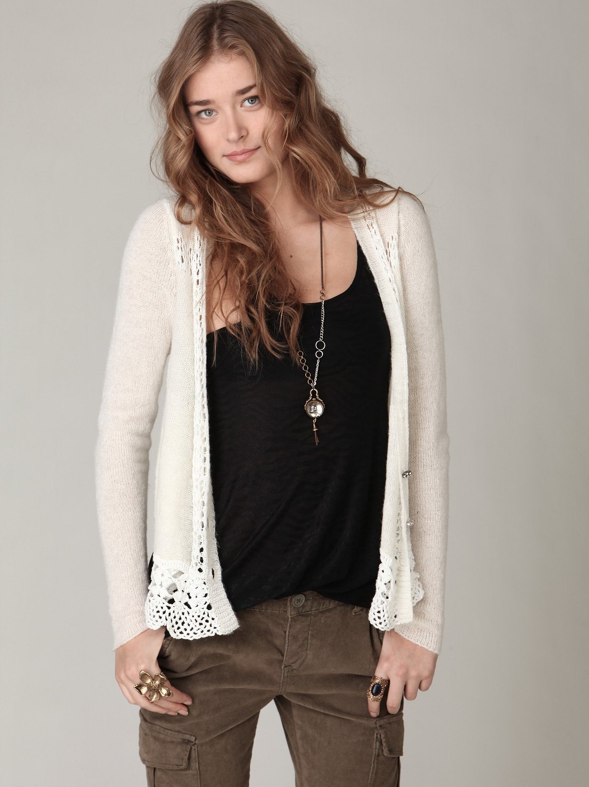 Cherished Crochet Cardigan