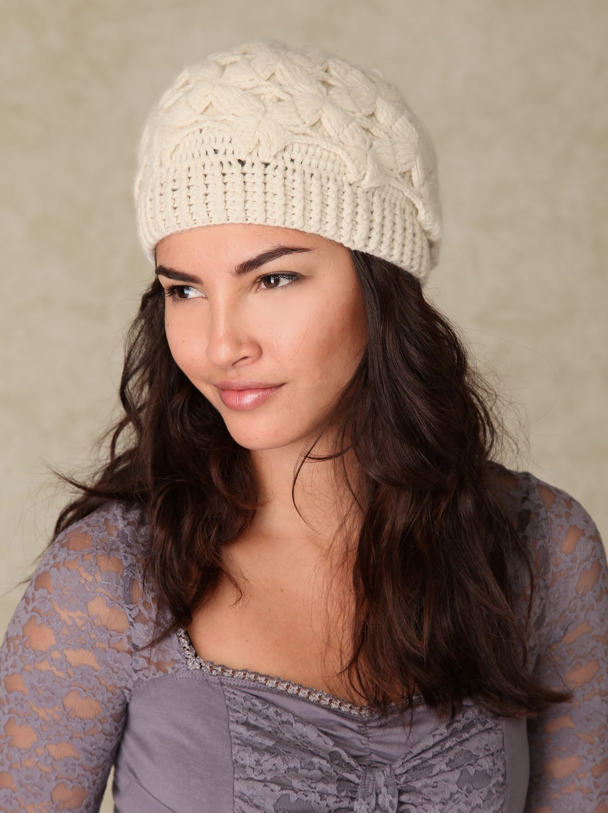 Elsa Crochet Beanie