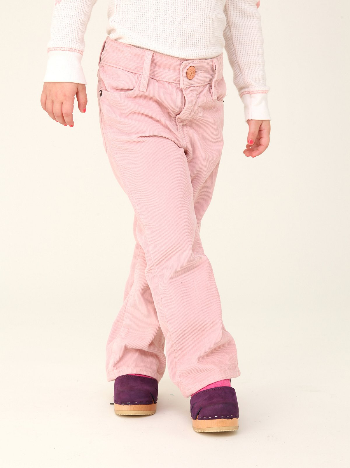 Wee People Pink Corduroy Bottoms