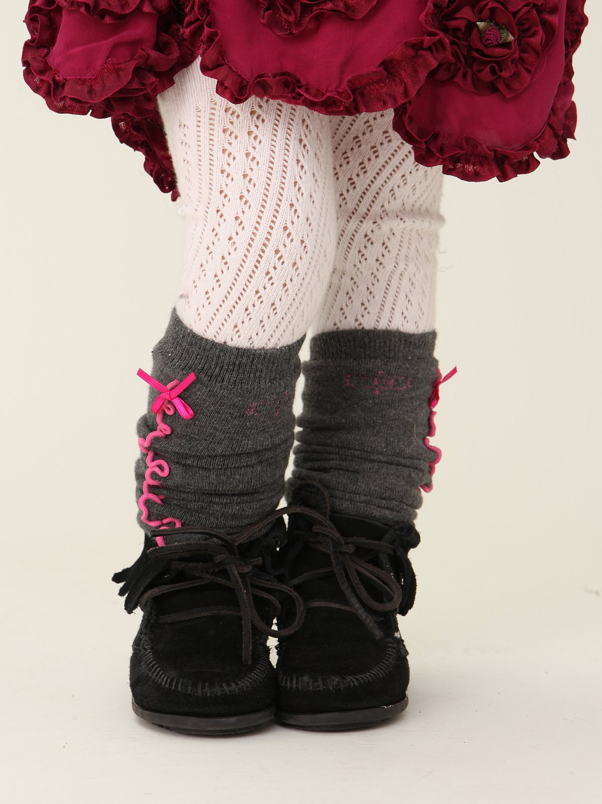Wee People Seamed Sweetie Legwarmer