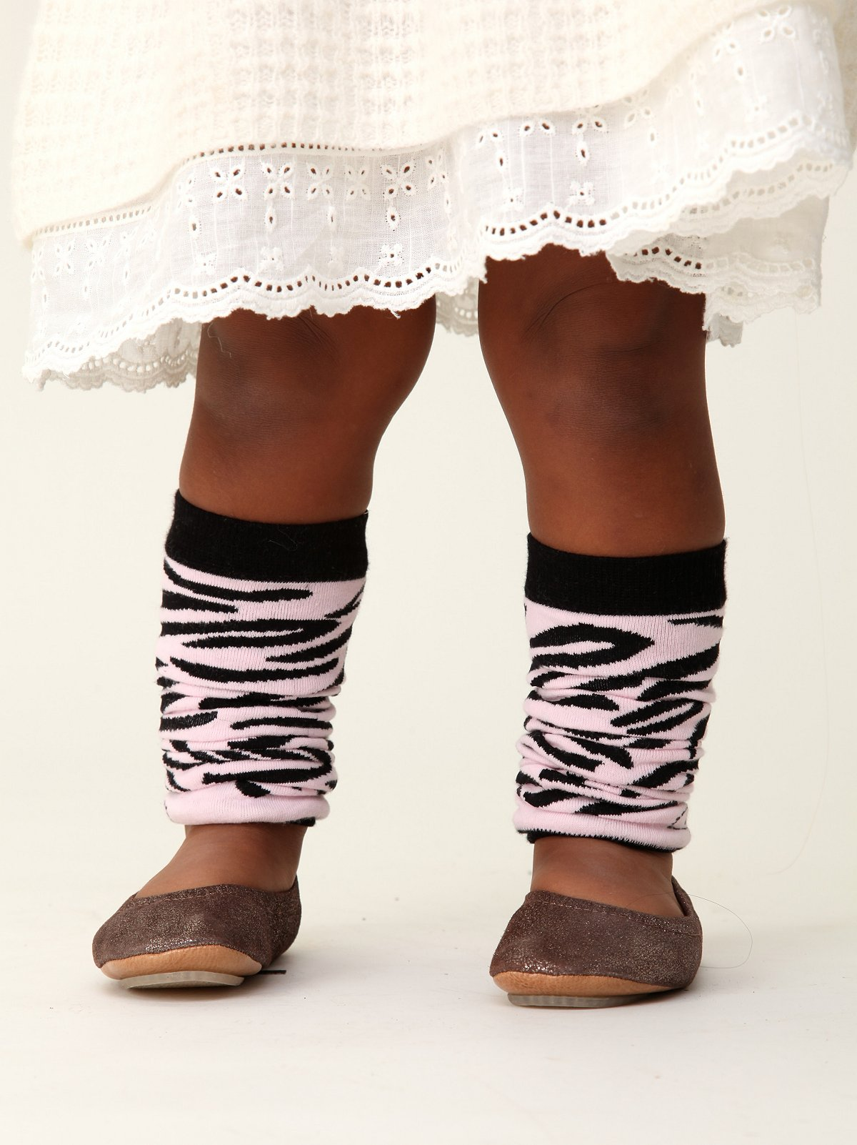 Wee People Zany Zebra Legwarmers