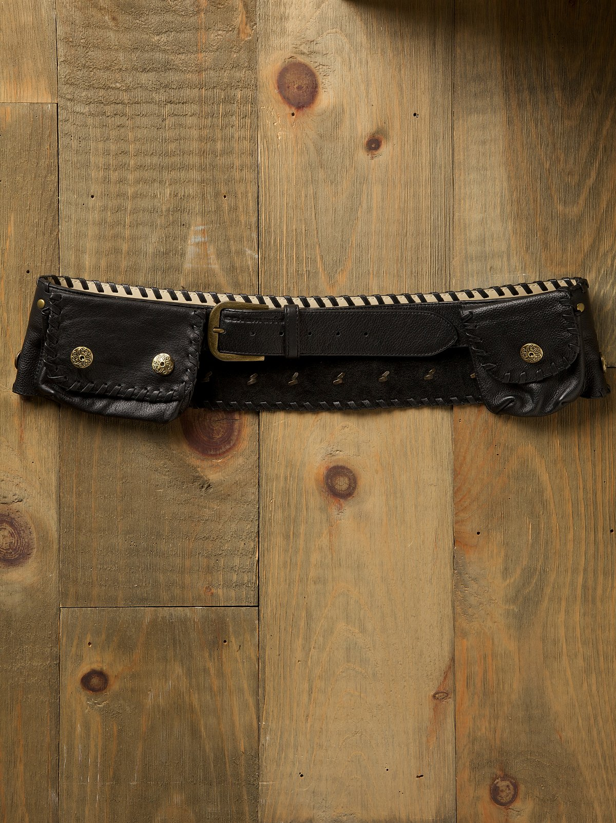 Whipstitch Pocket Hip Belt