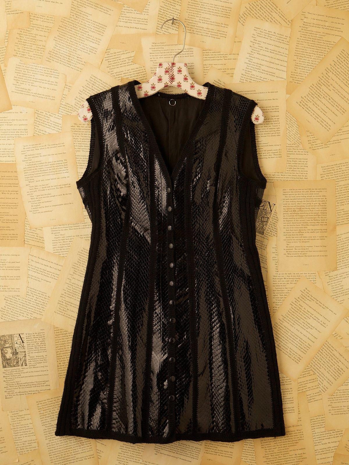 Vintage Knit Minidress