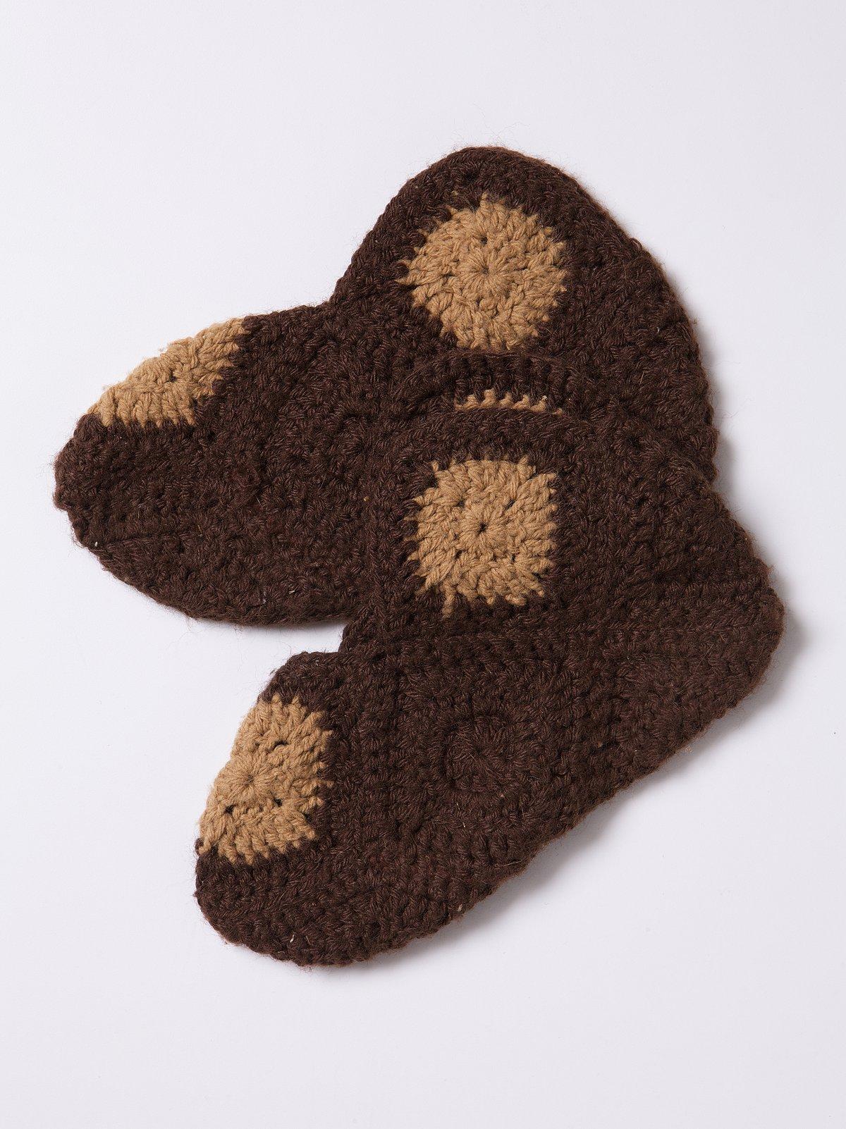 Vintage Knit Booties
