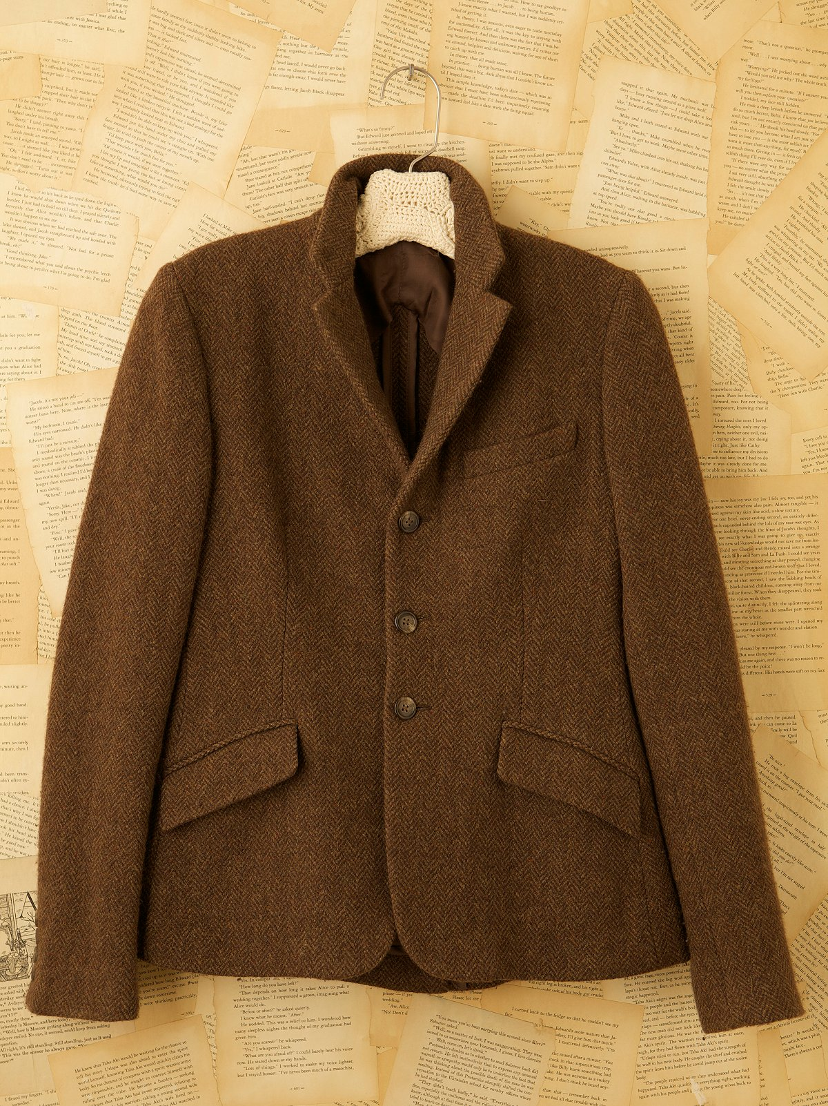 Vintage Cashmere Riding Jacket