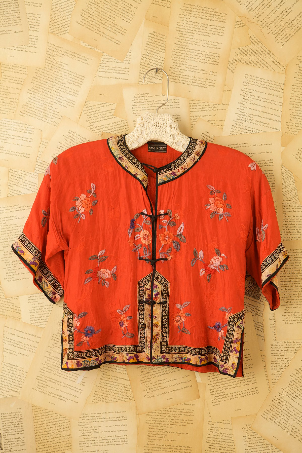 Vintage Chinese Style Bed Jacket