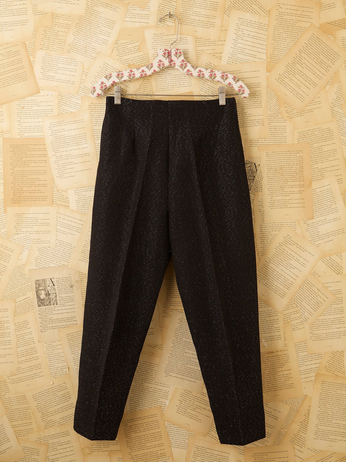 Vintage Wool Sparkle Pants
