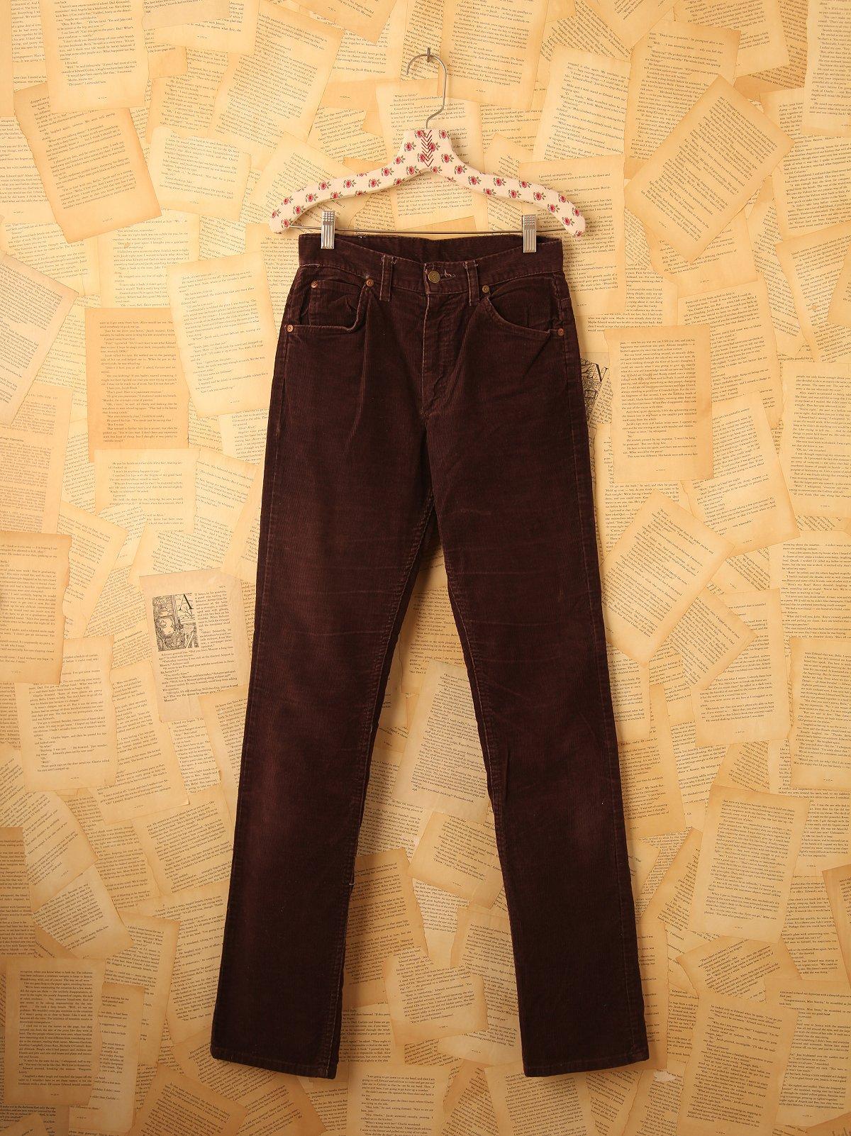 Vintage 1970s Lee Cords