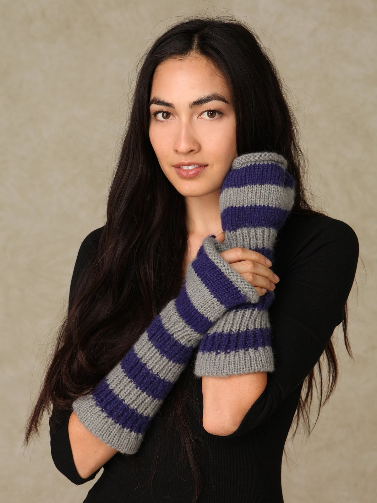 French Stripe Arm Warmer