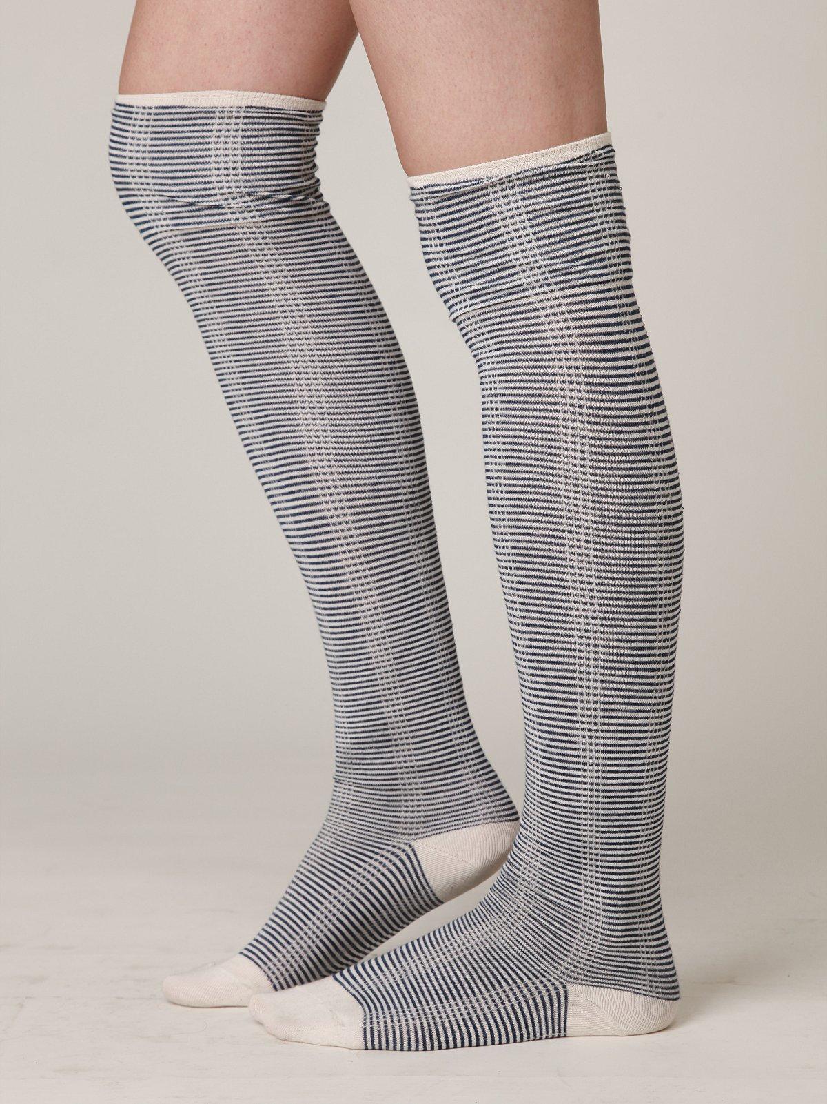 Mini Stripes Tall Sock