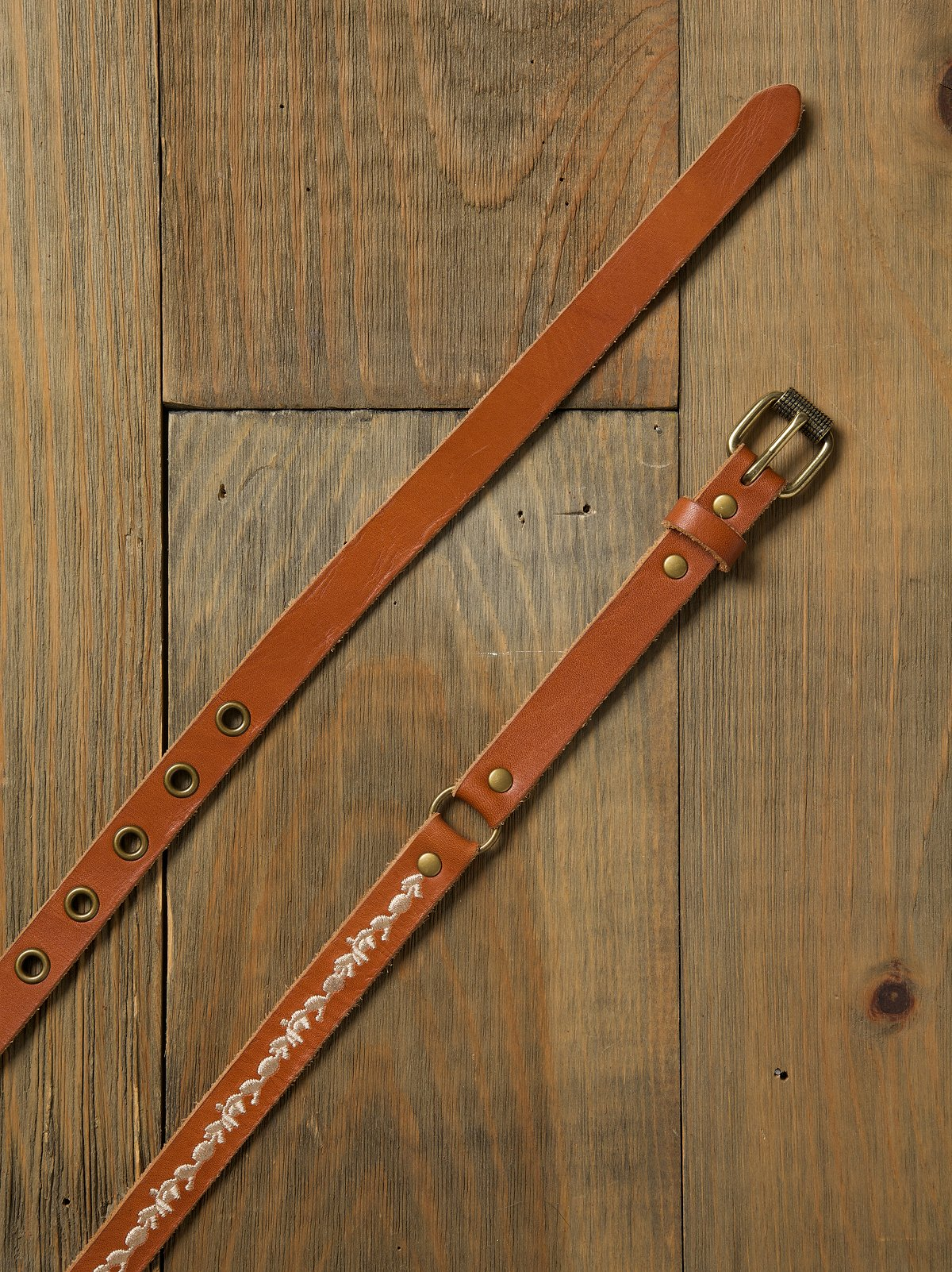Trailing Vines Double Wrap Belt