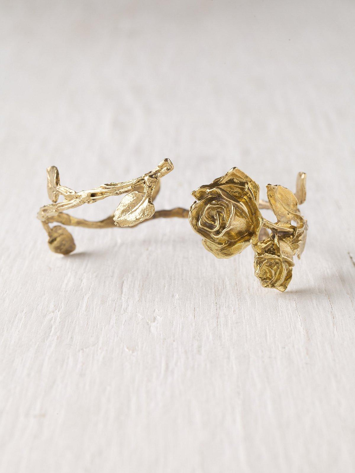 Roses & Leaves Armband