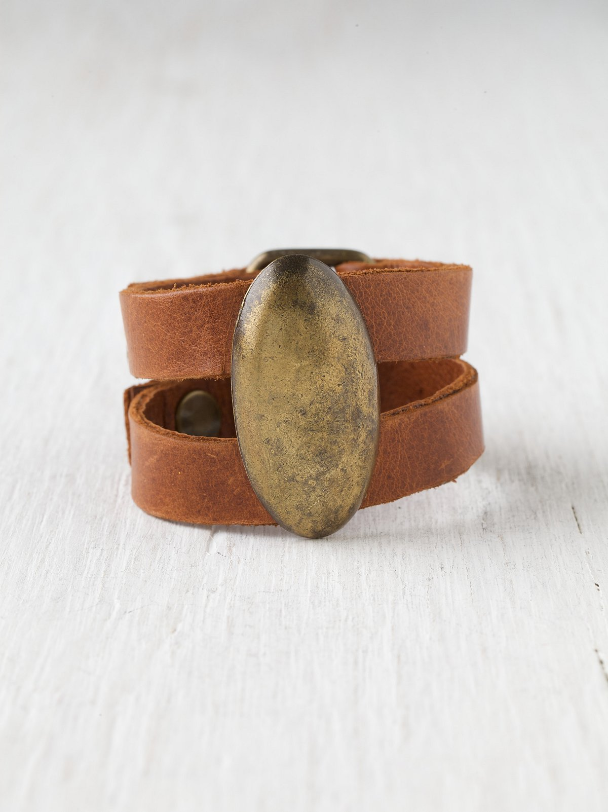 Foothills Leather Cuff