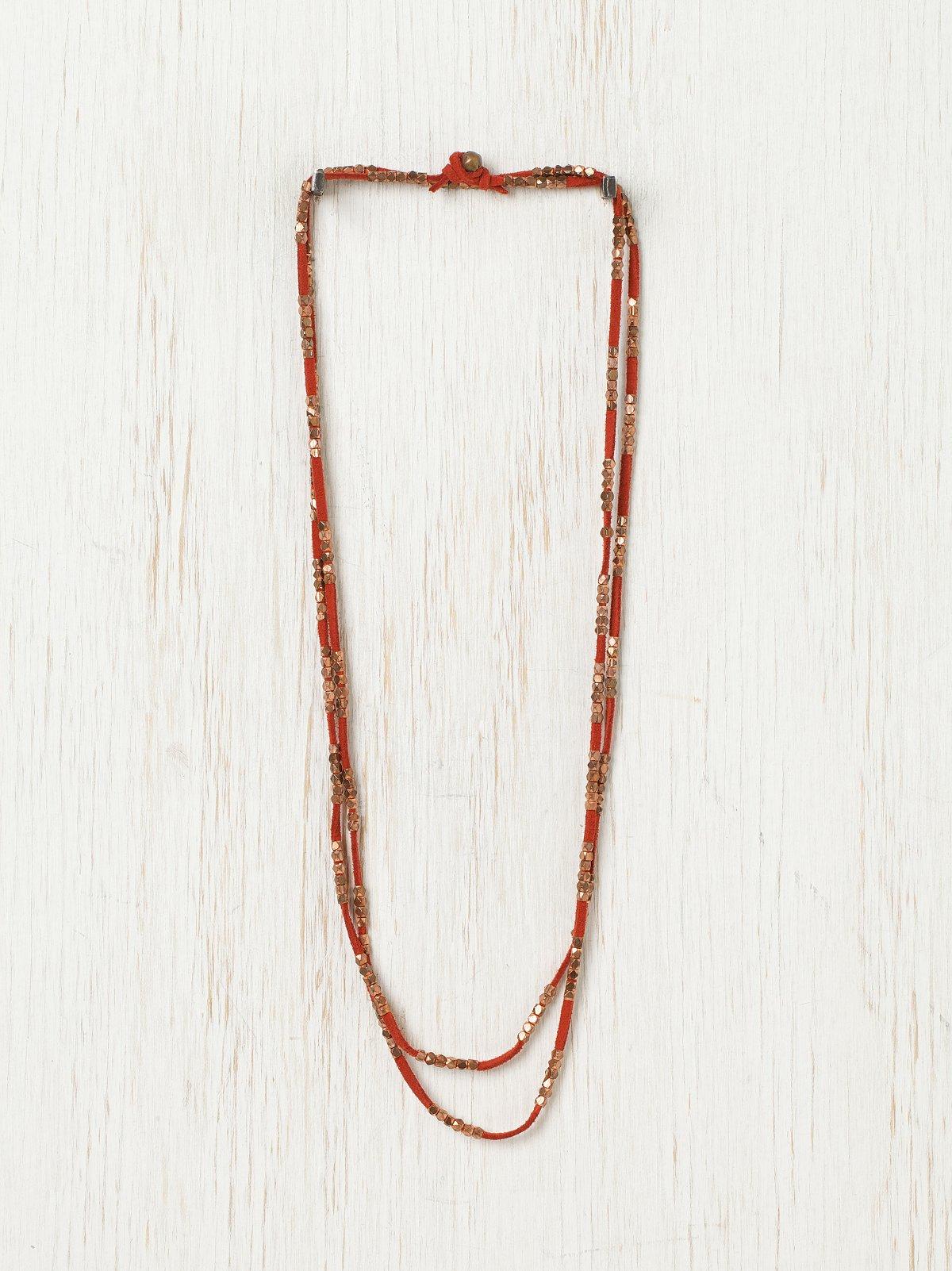 Sliding Rock Layering Necklace