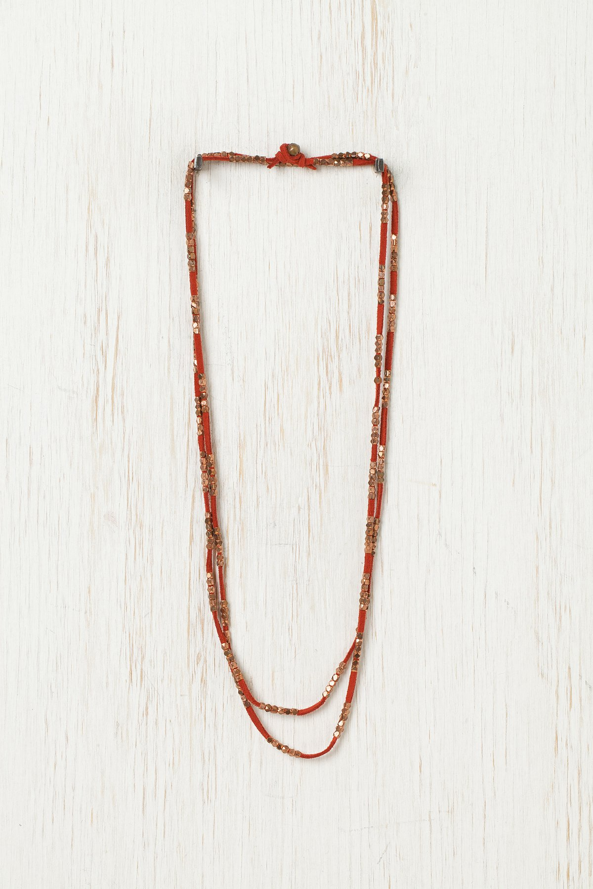 Sliding Rock Layering Necklace