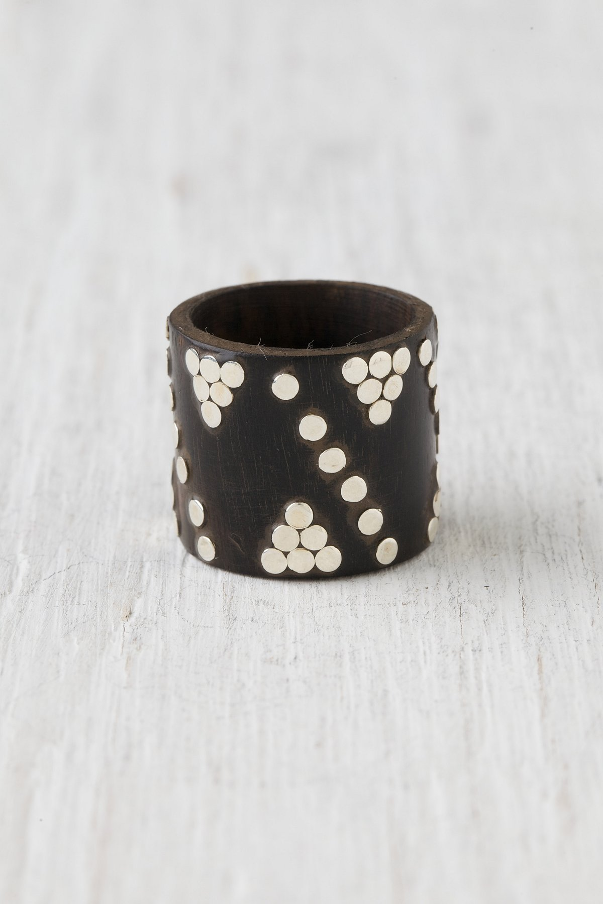 Studded Logan Ring