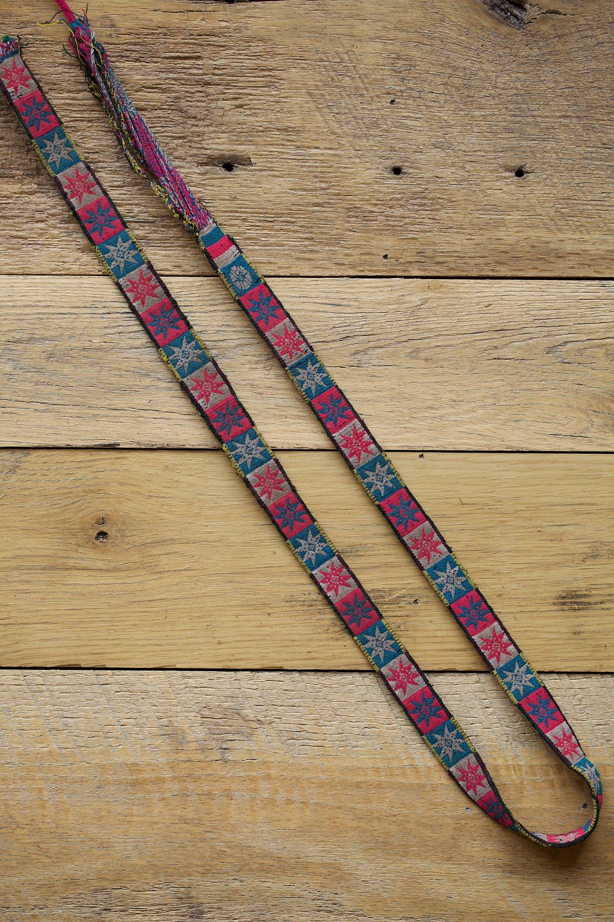 Vintage Bolivian Sache Belt