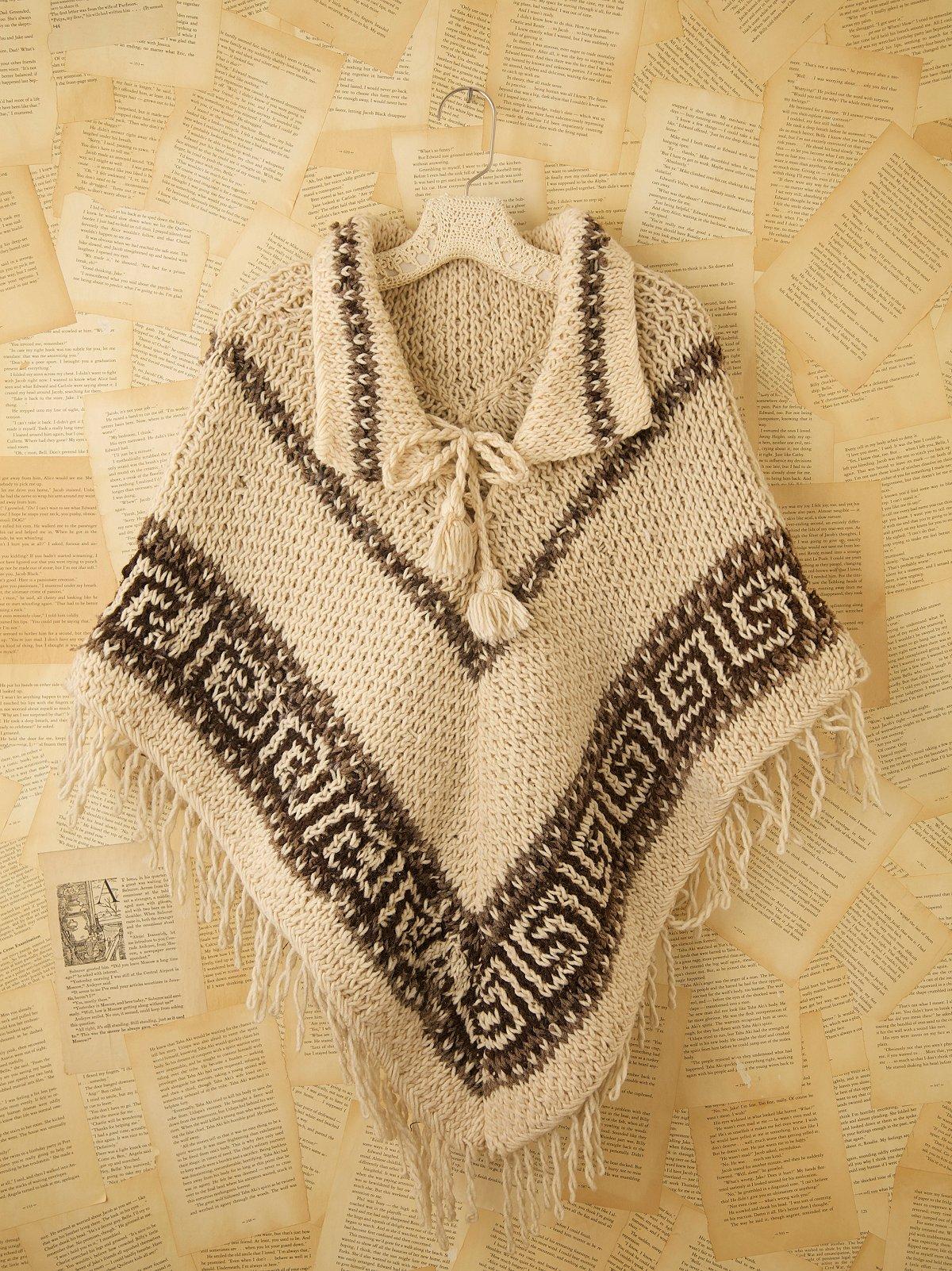 Vintage Wool Capelet