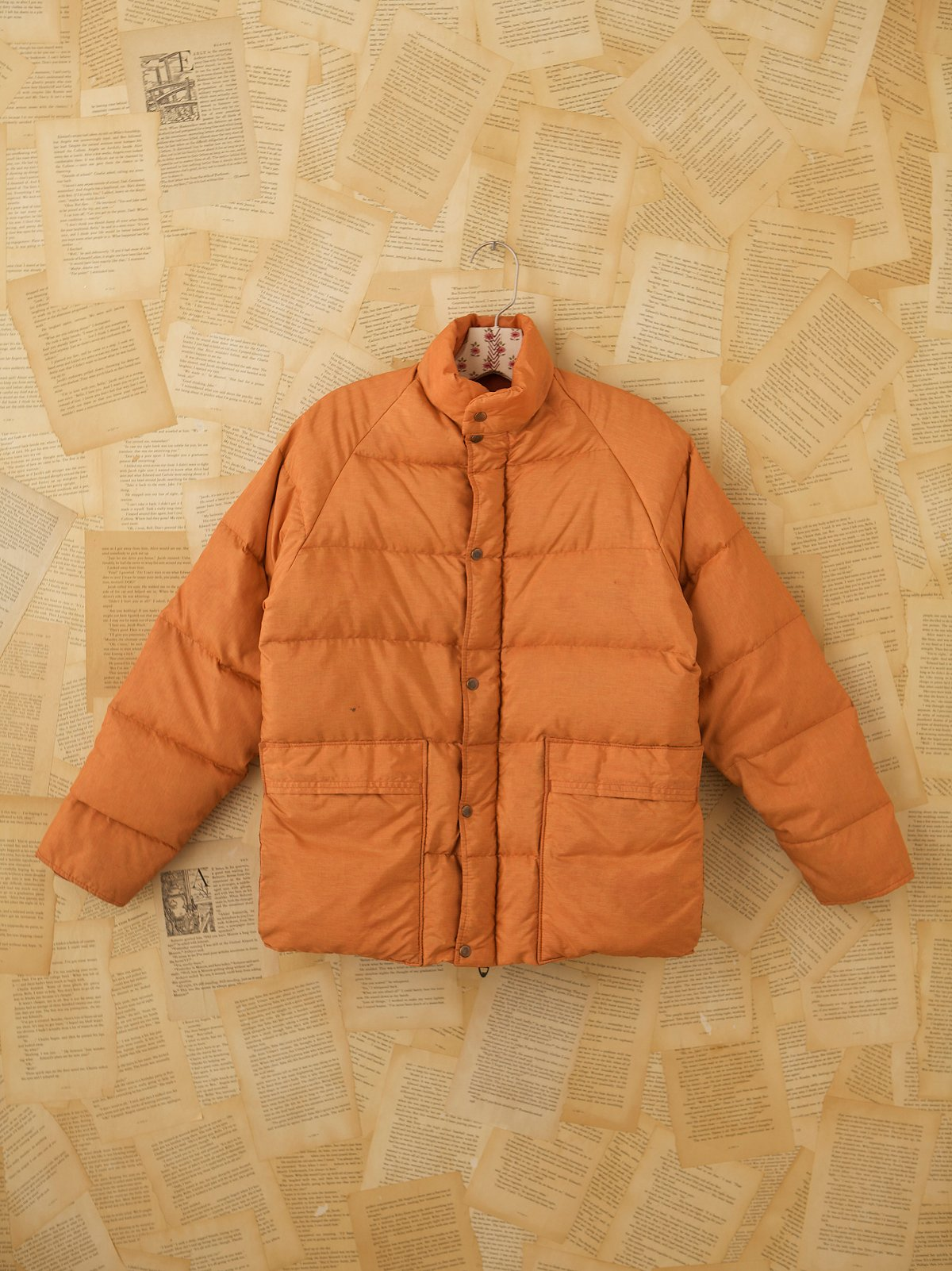 Vintage Quilted Down Jacket