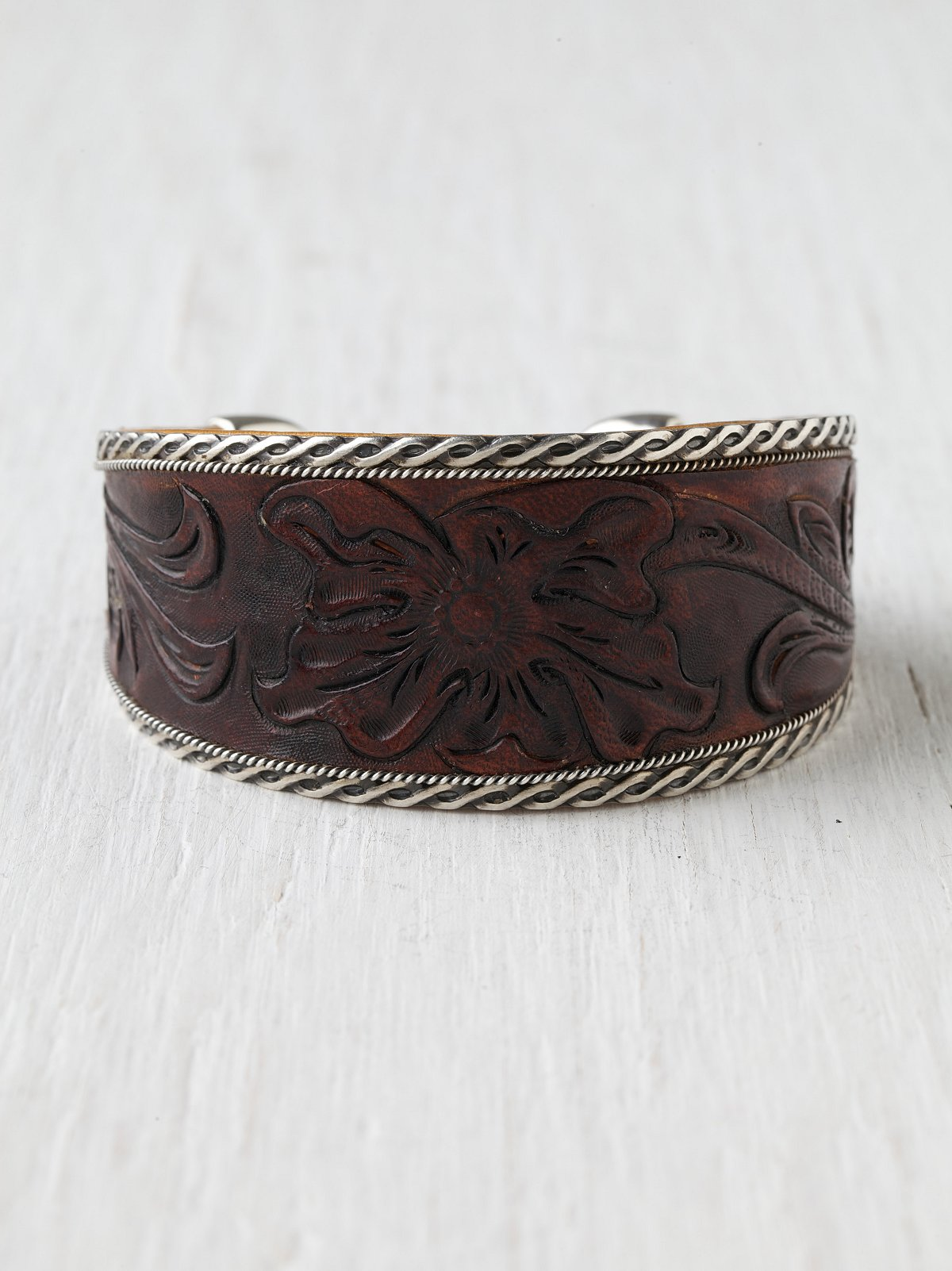 Santa Fe Leather Cuff