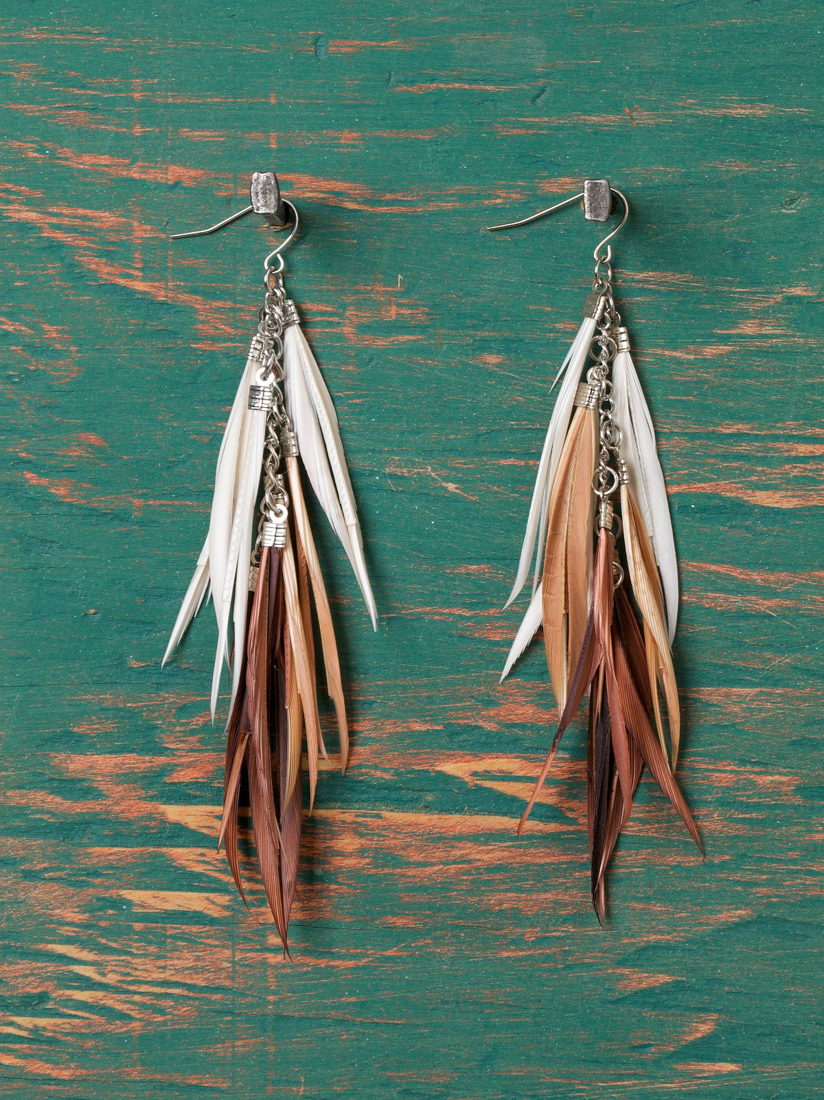 Kenya Feather Earrings
