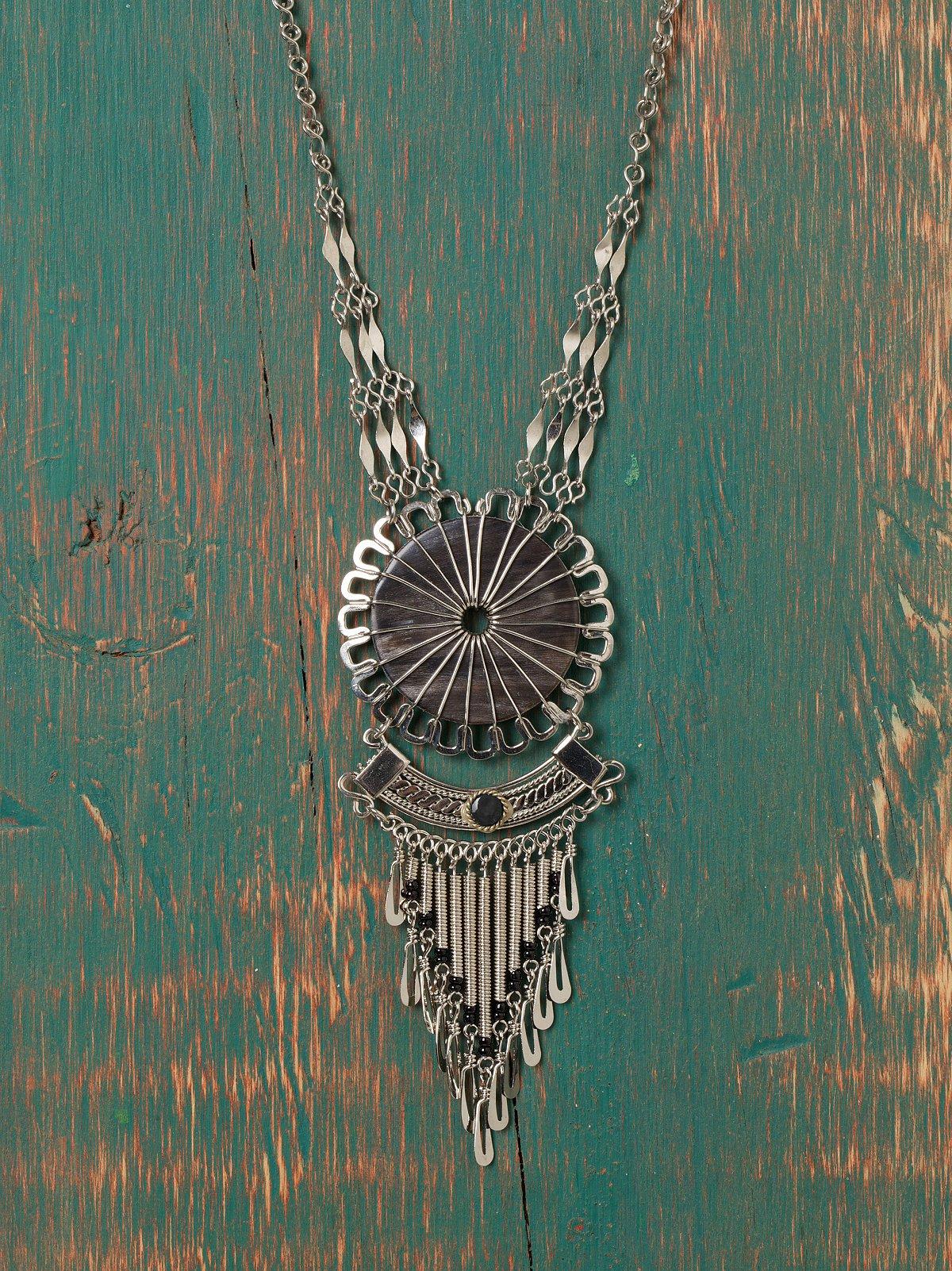 Nephi Fringe Necklace