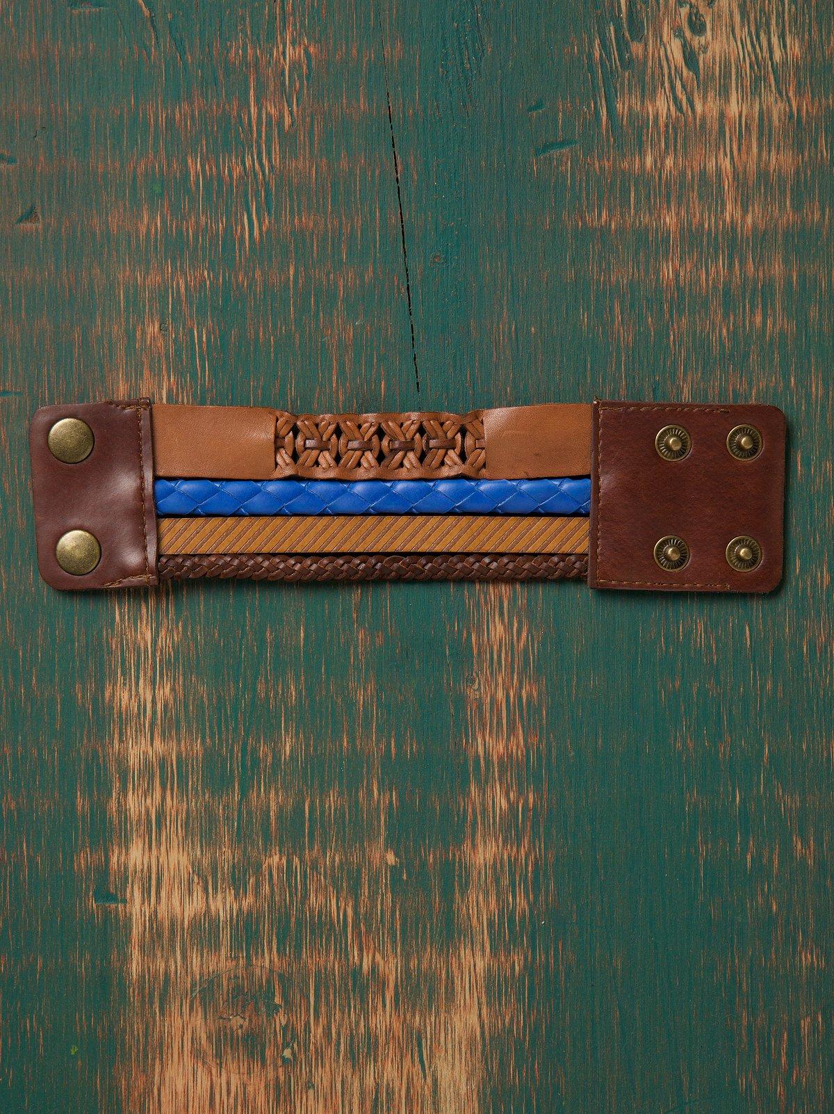 Cassidy Leather Bracelet