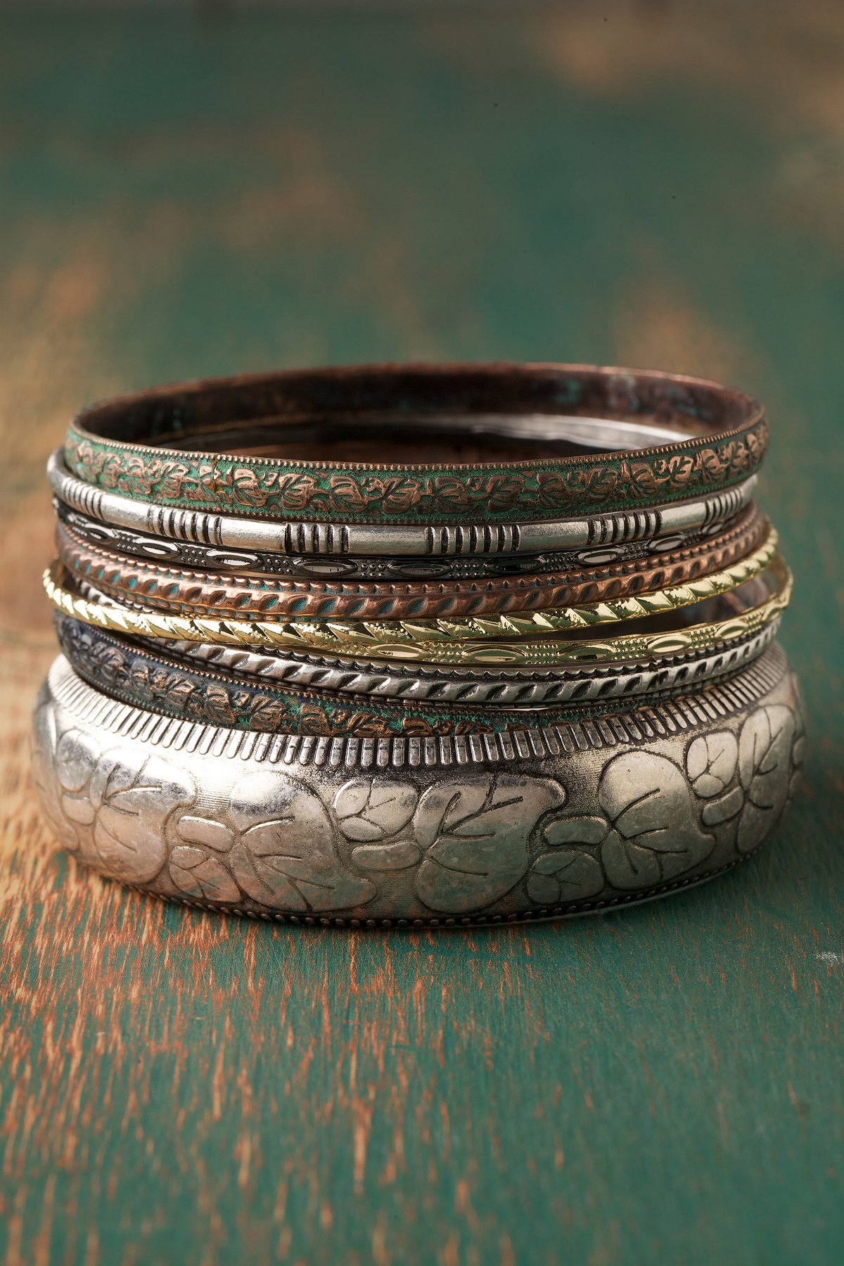 Trails Of Color Bangles