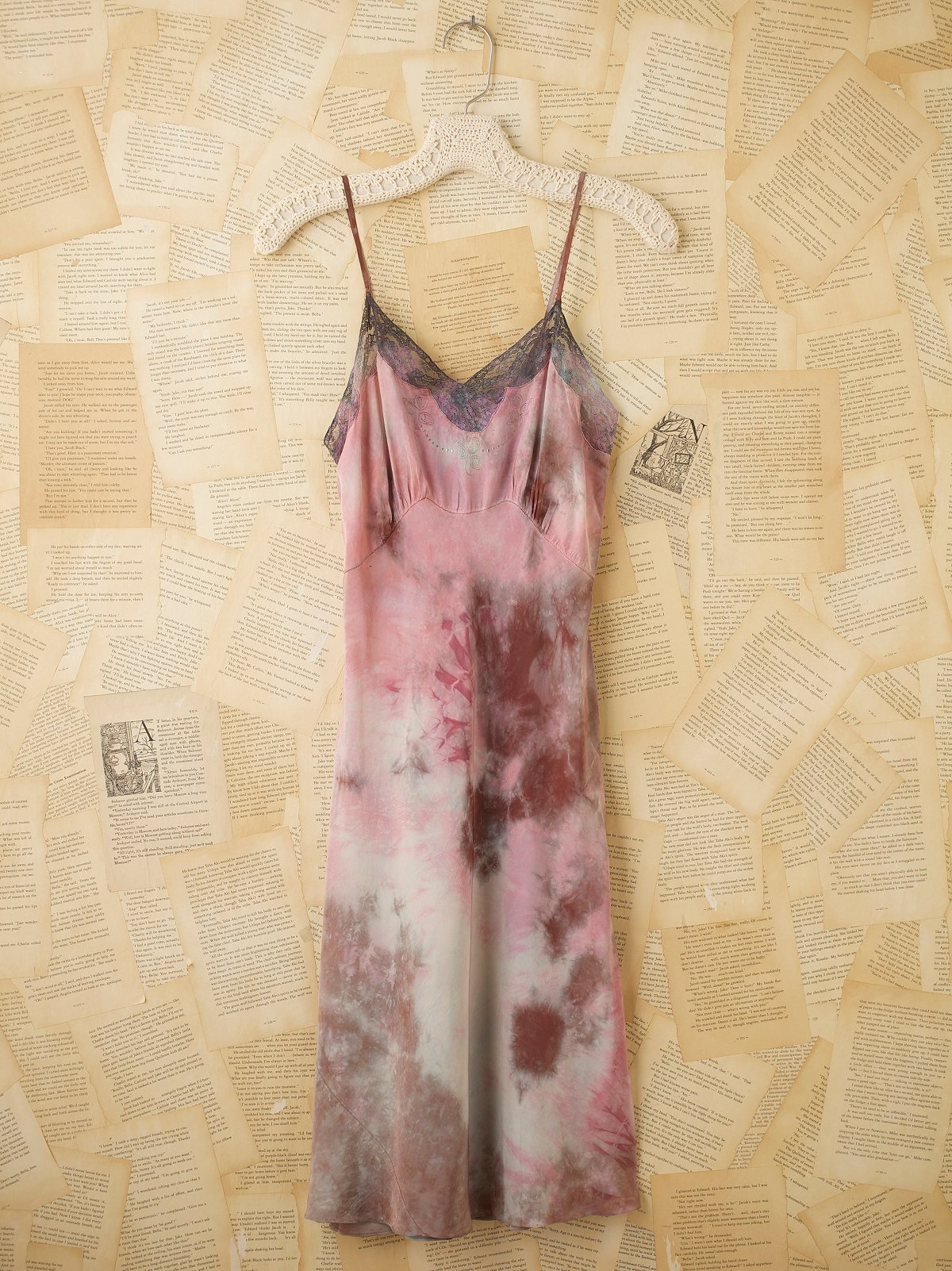 Vintage Rayon Slip Dress