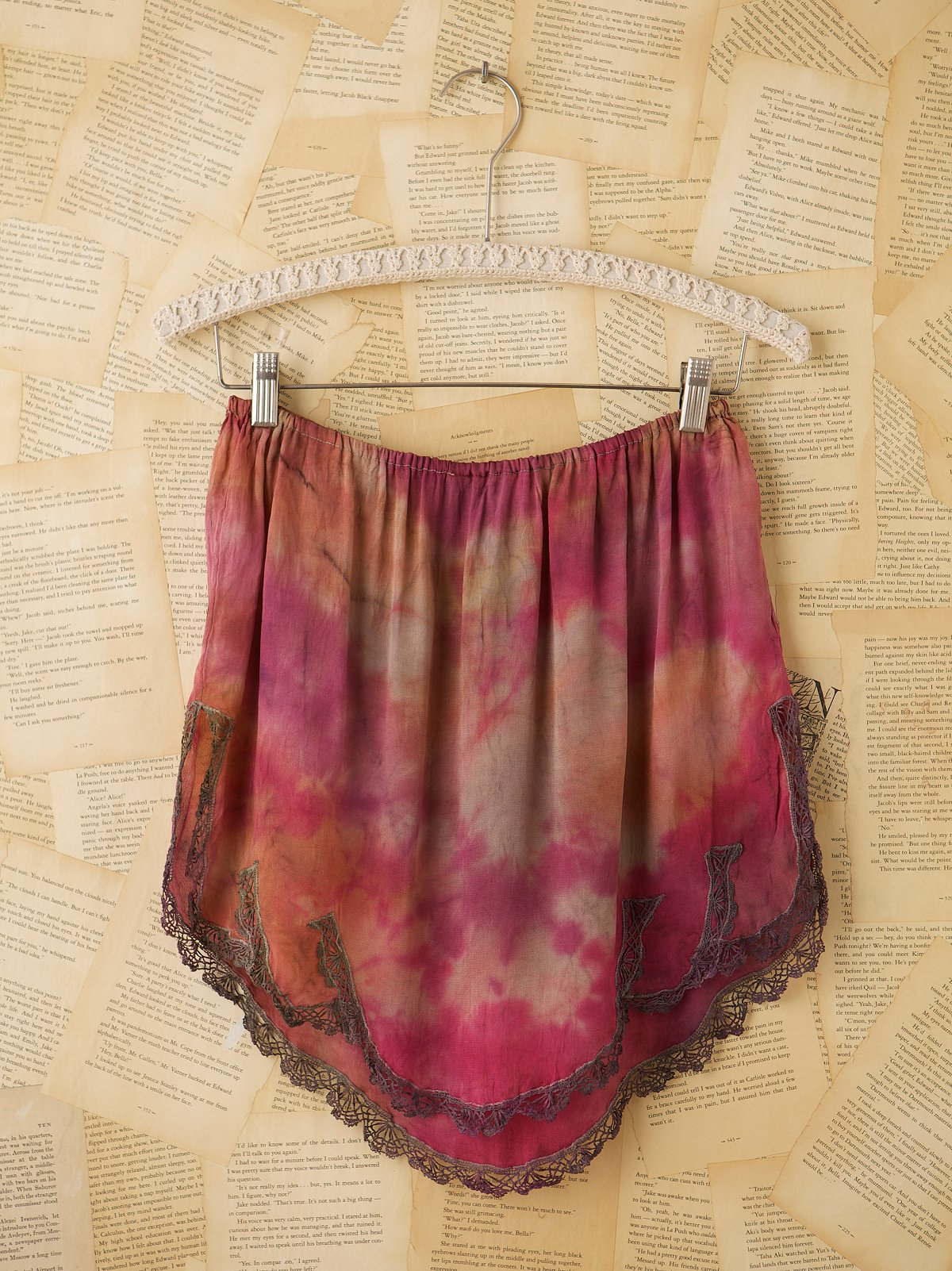 Vintage 1930s Silk Tap Skirt