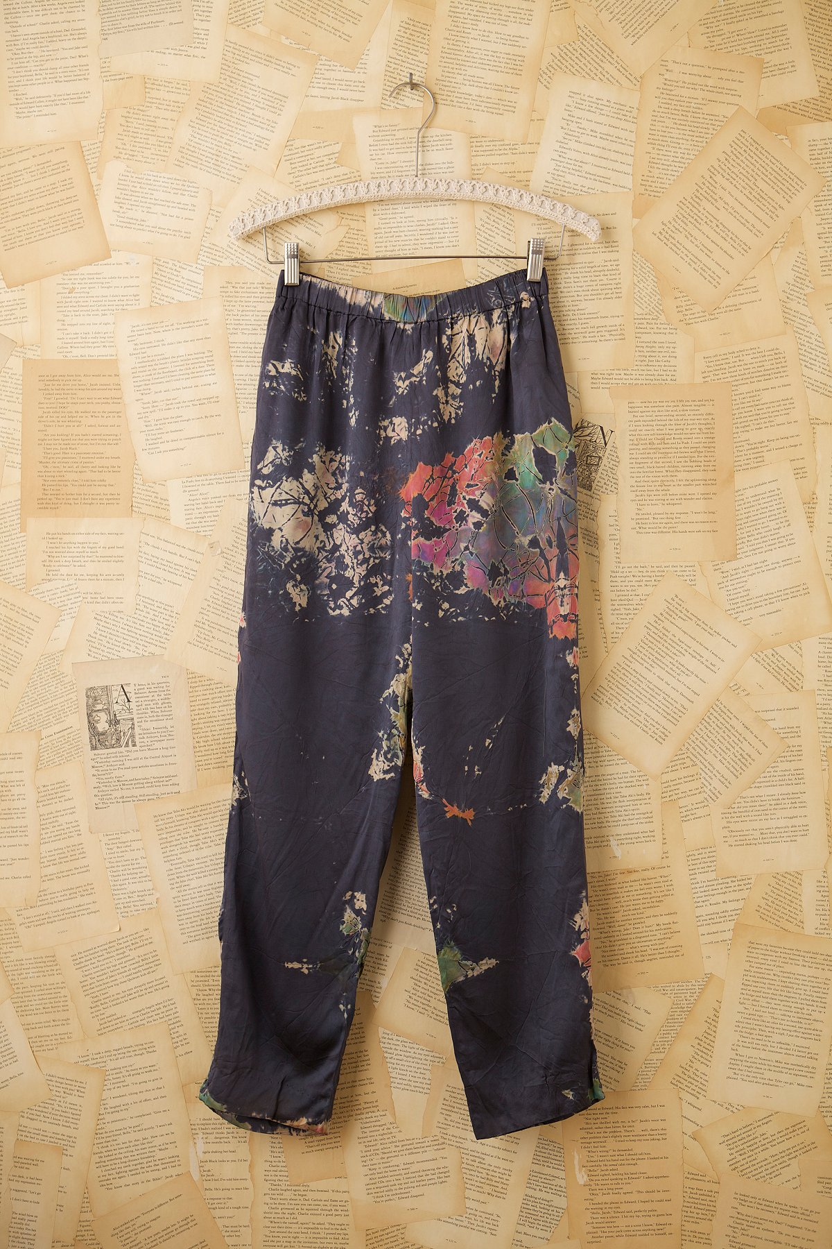 Vintage 1960s Silk Pant