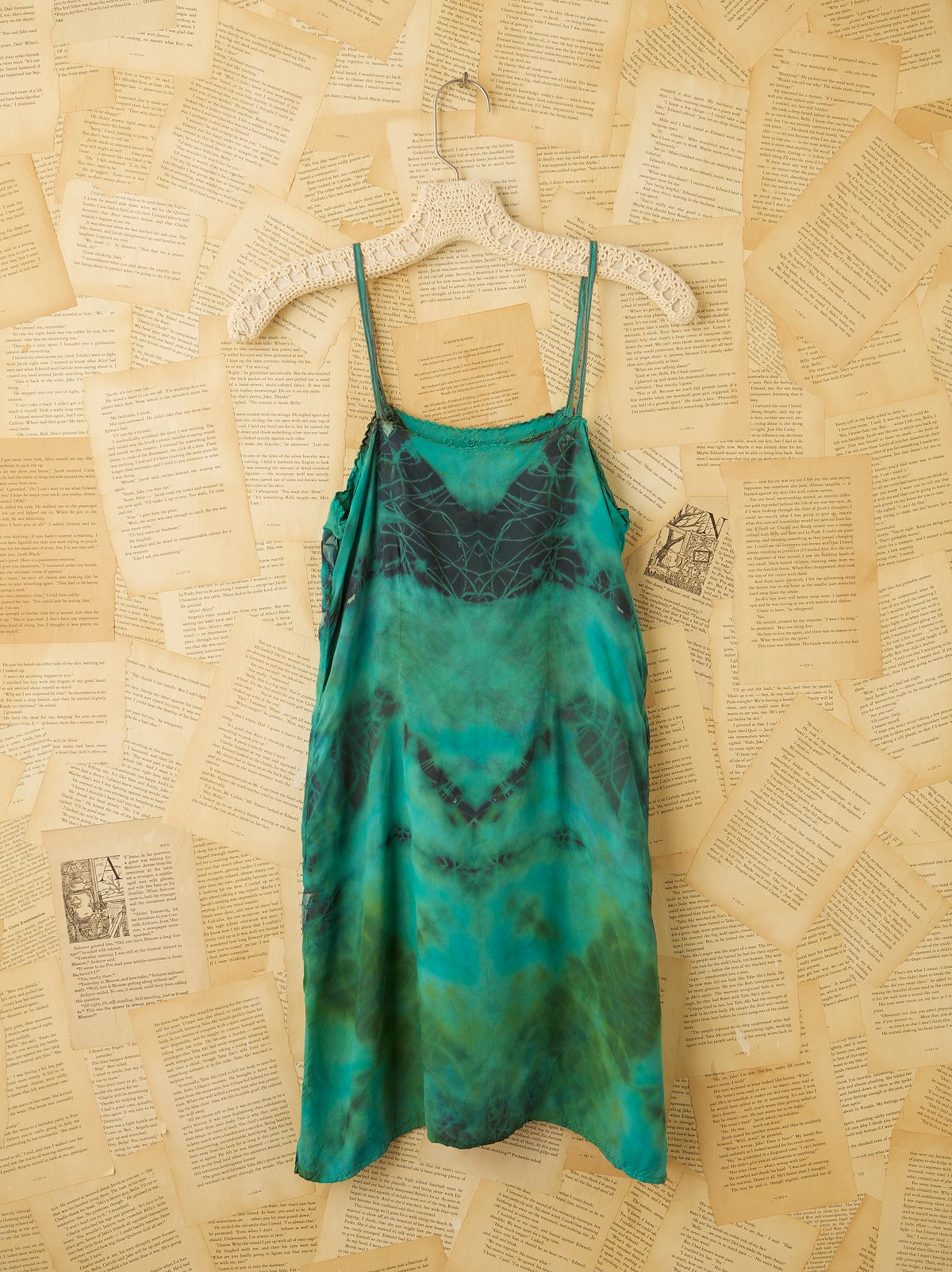 Vintage 1930s Silk Tunic
