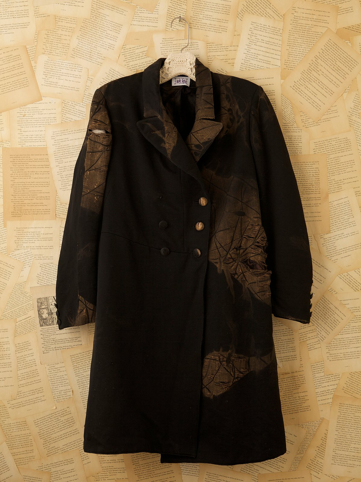 Vintage Three Button Topcoat
