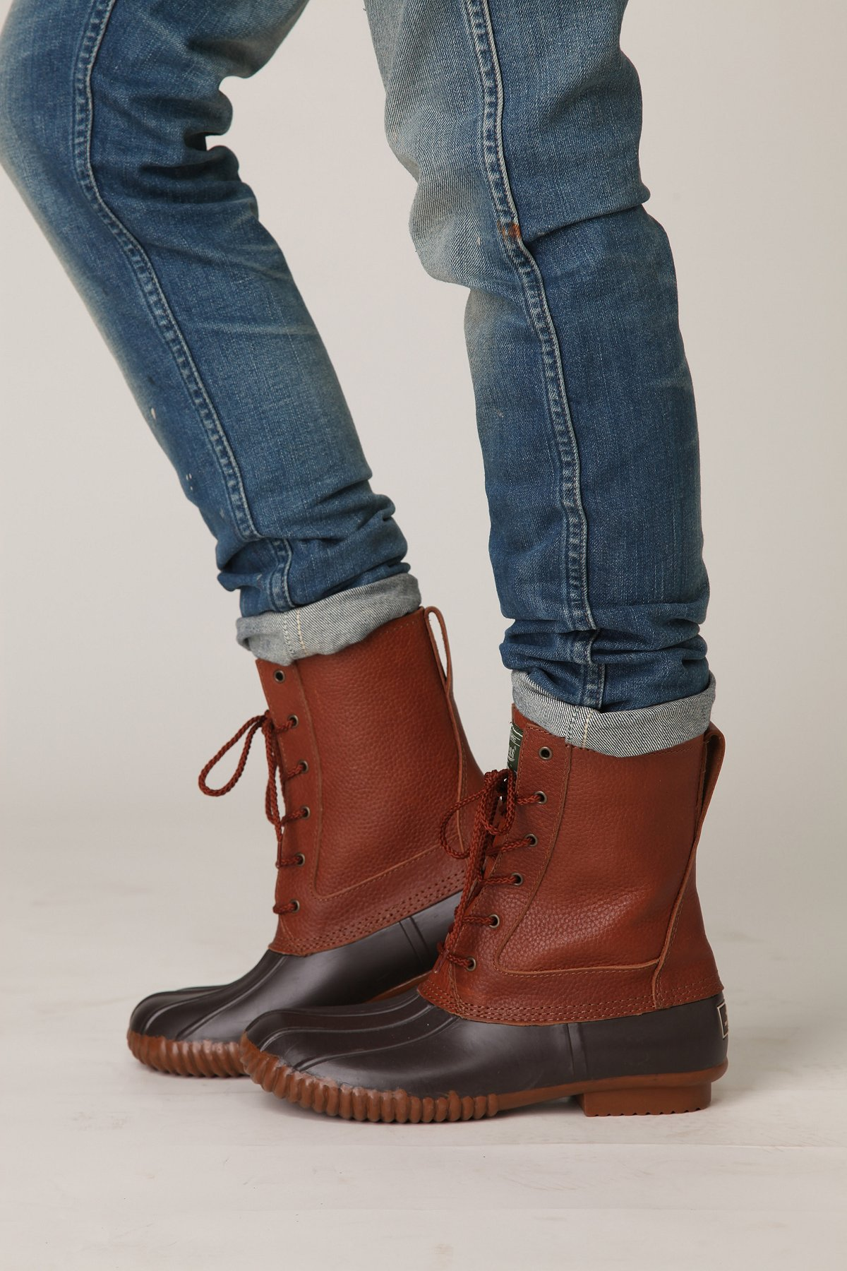 Bass Lace Up Duck Boot