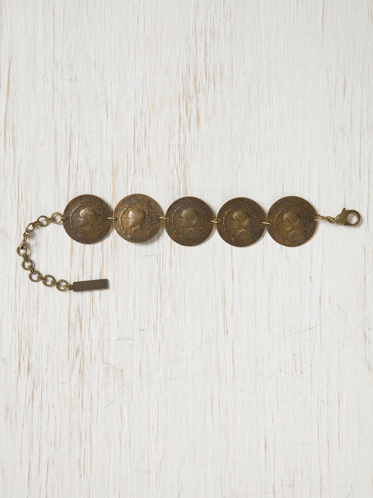 Traded Coin Bracelet