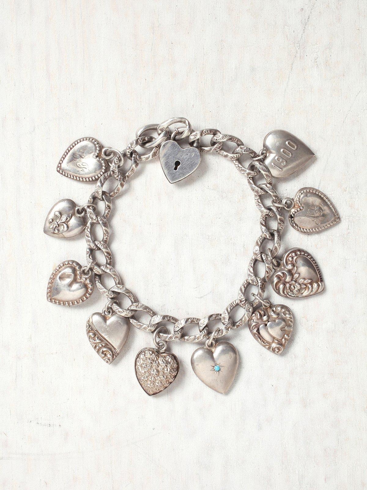 Vintage Victorian Charm Bracelet