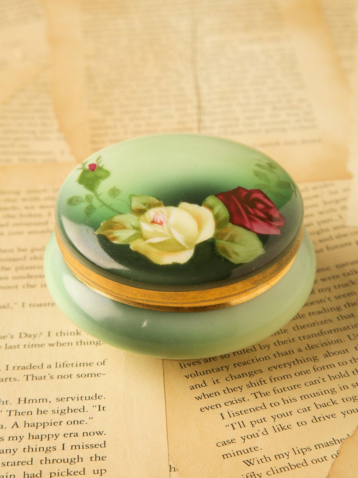 Vintage Victorian Pin Jar