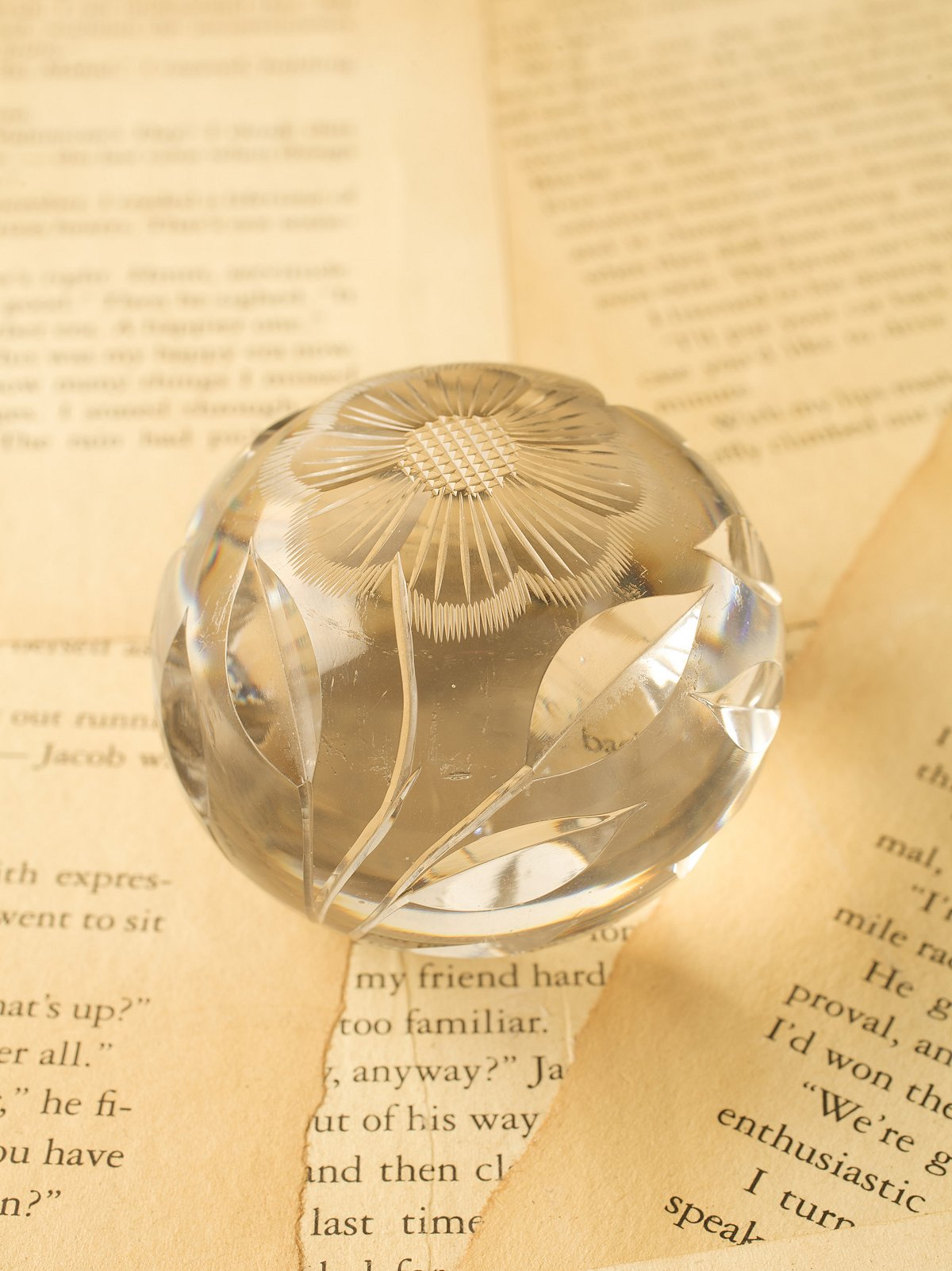 Vintage 1970s Paperweight
