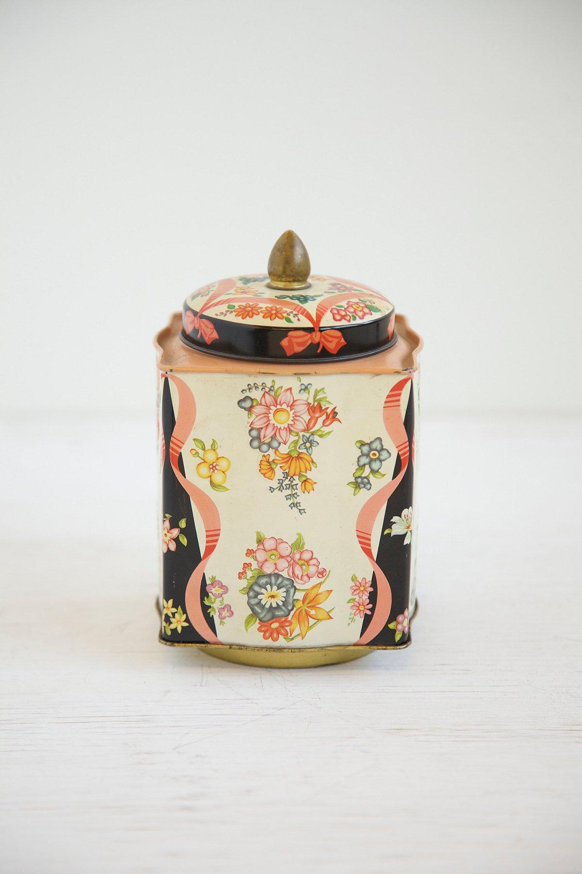 Vintage England Toffee Tin