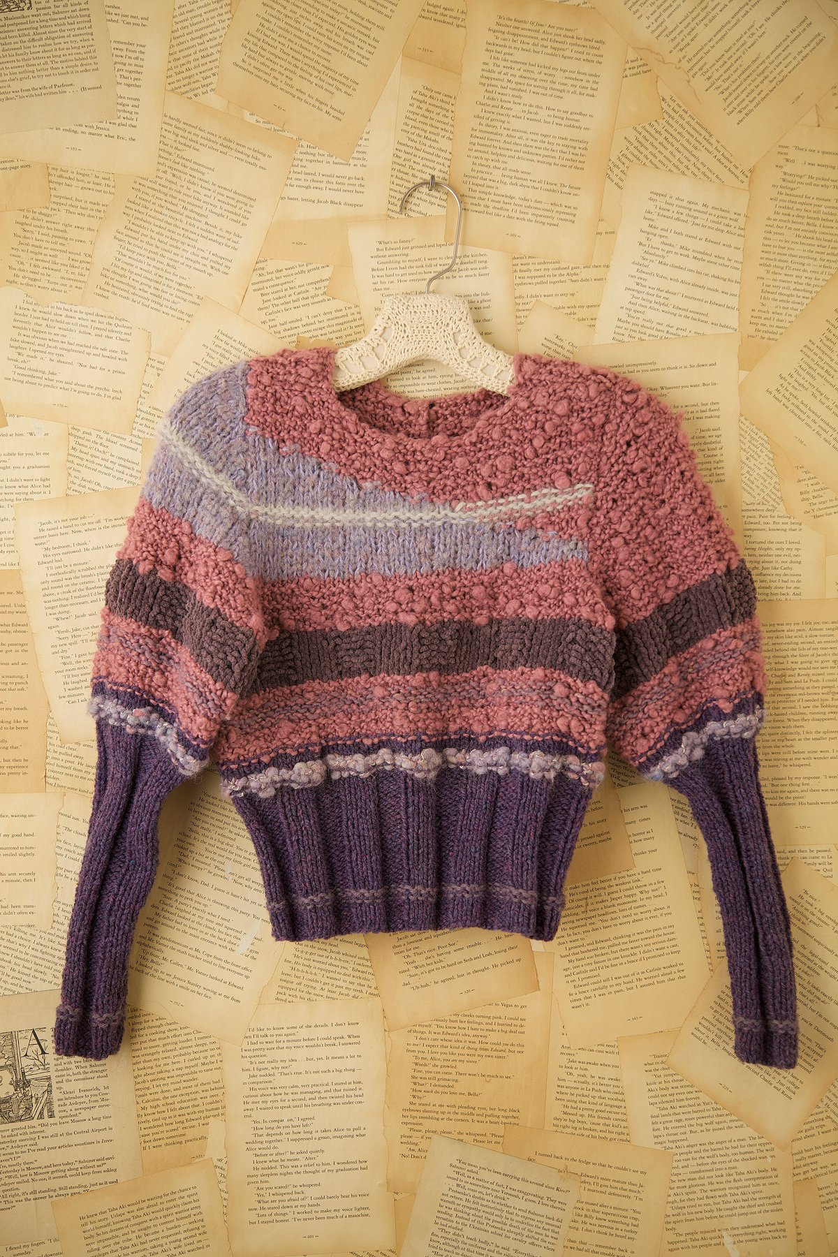 Vintage 1980s High Collar Sweater