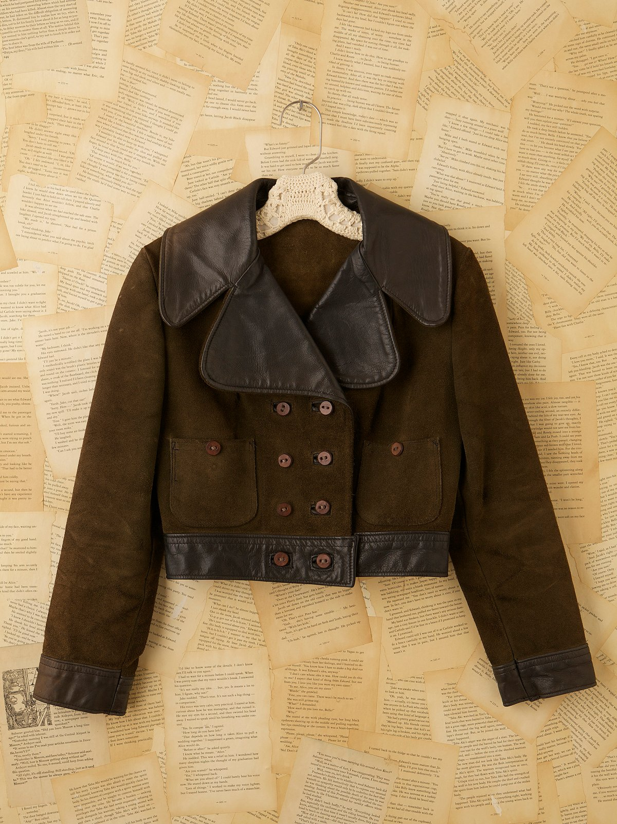 Vintage 60s Roughout Suede Coat