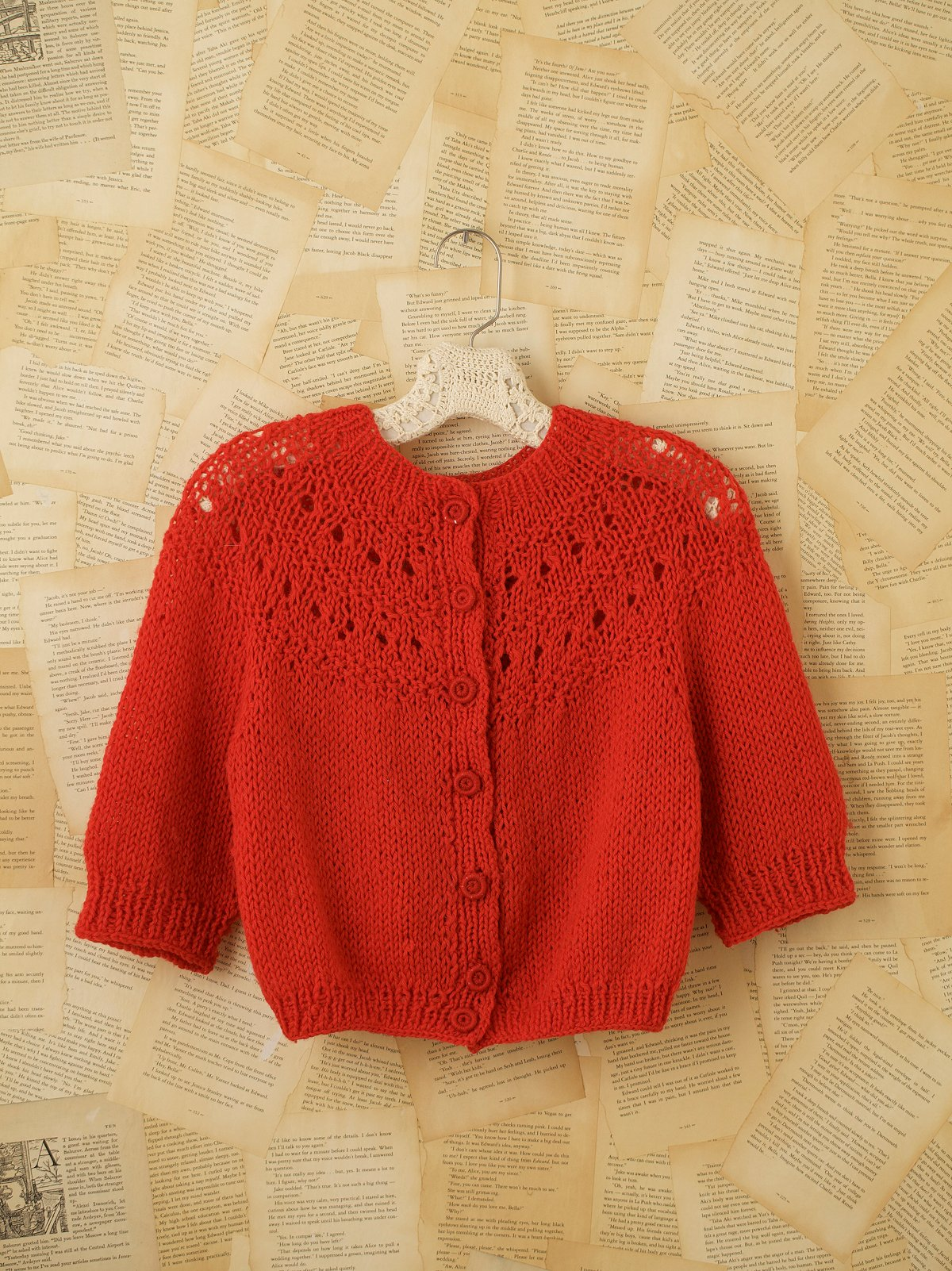 Vintage Handknit Cardigan