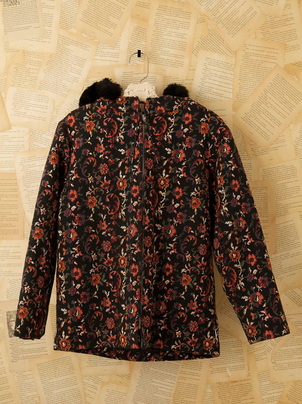 Vintage 60s Needlepoint Jacket